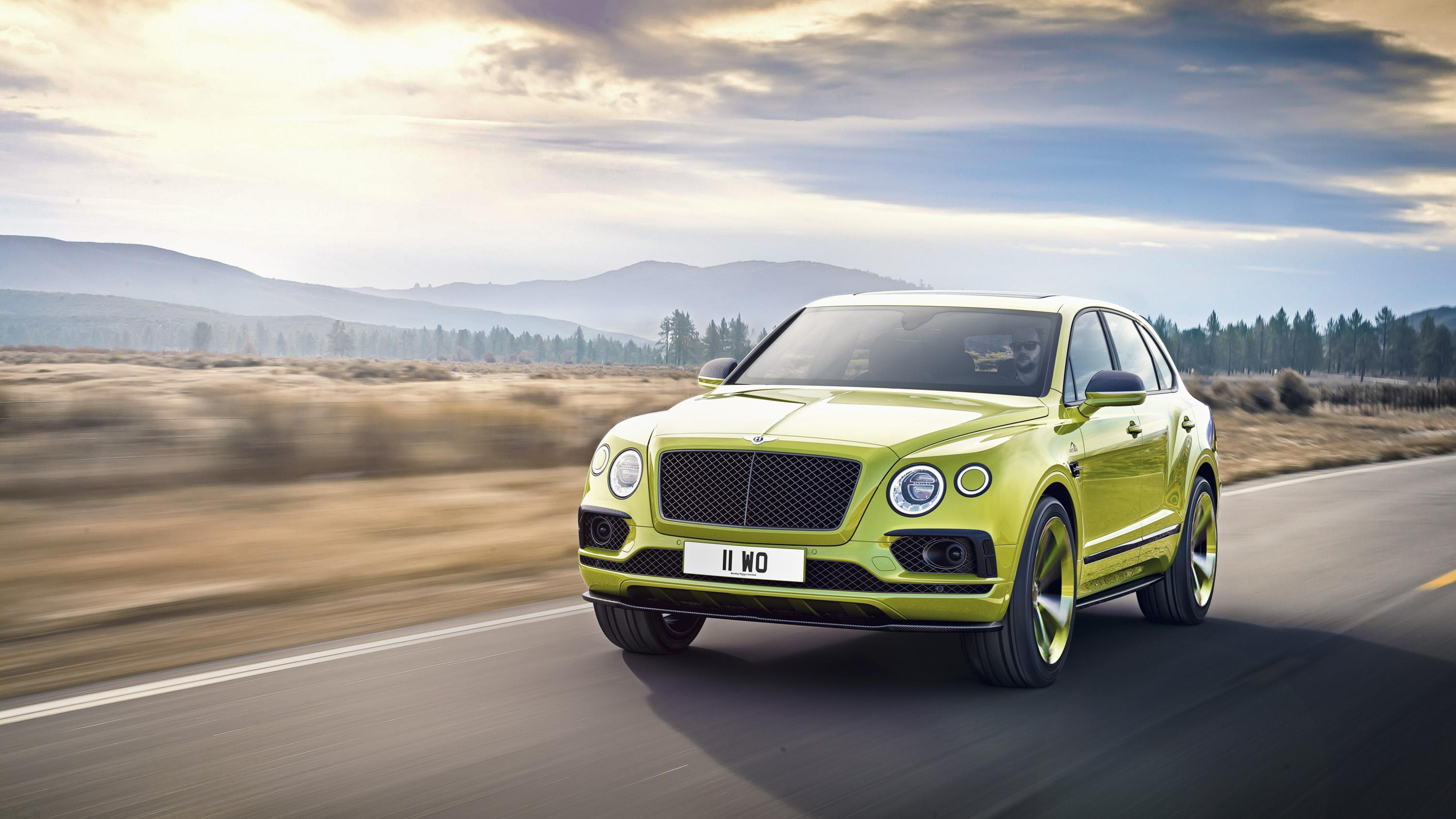 There's A Bentley Bentayga Speed In The Works And It's Going To Be ...