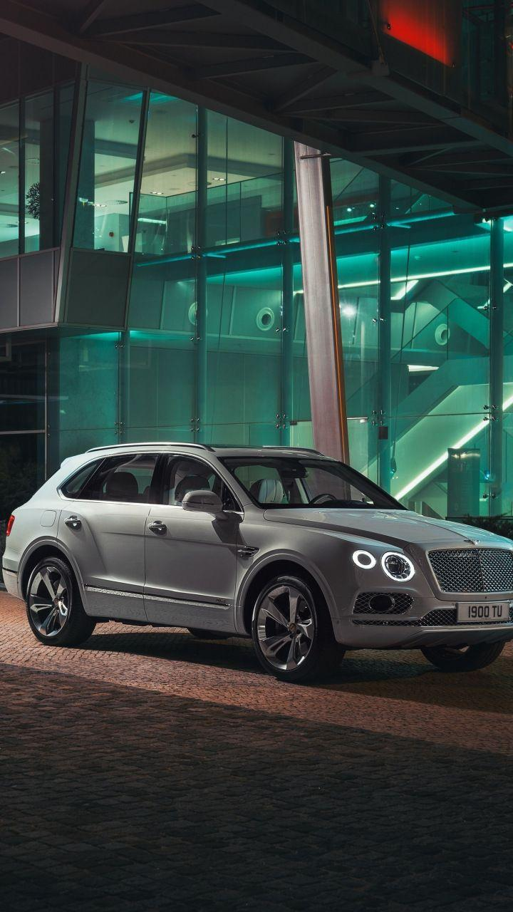 White luxury car, Bentley Bentayga, 720x1280 wallpaper | Cars Wallpapers