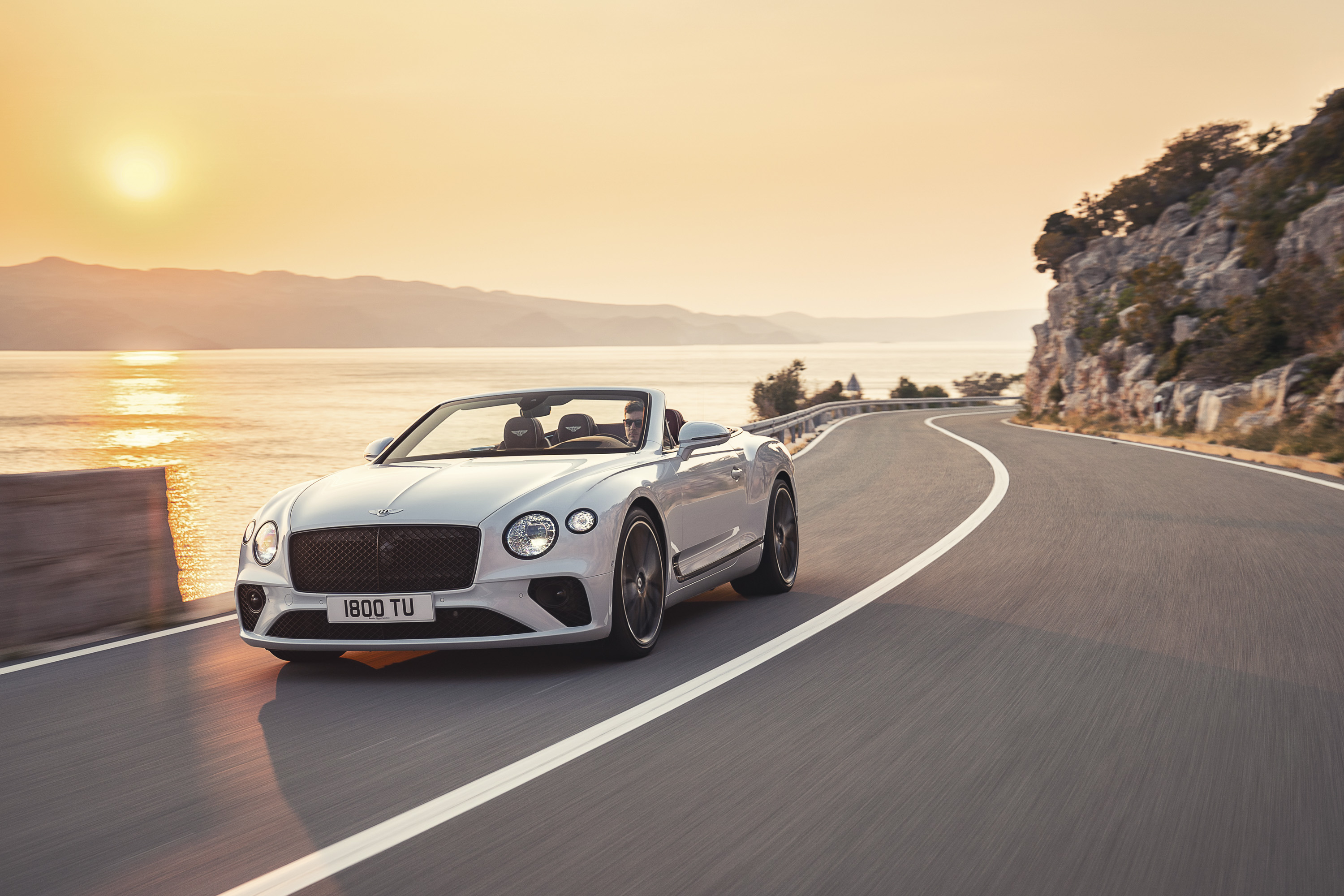 2019 Bentley Continental GT Convertible Front Wallpapers