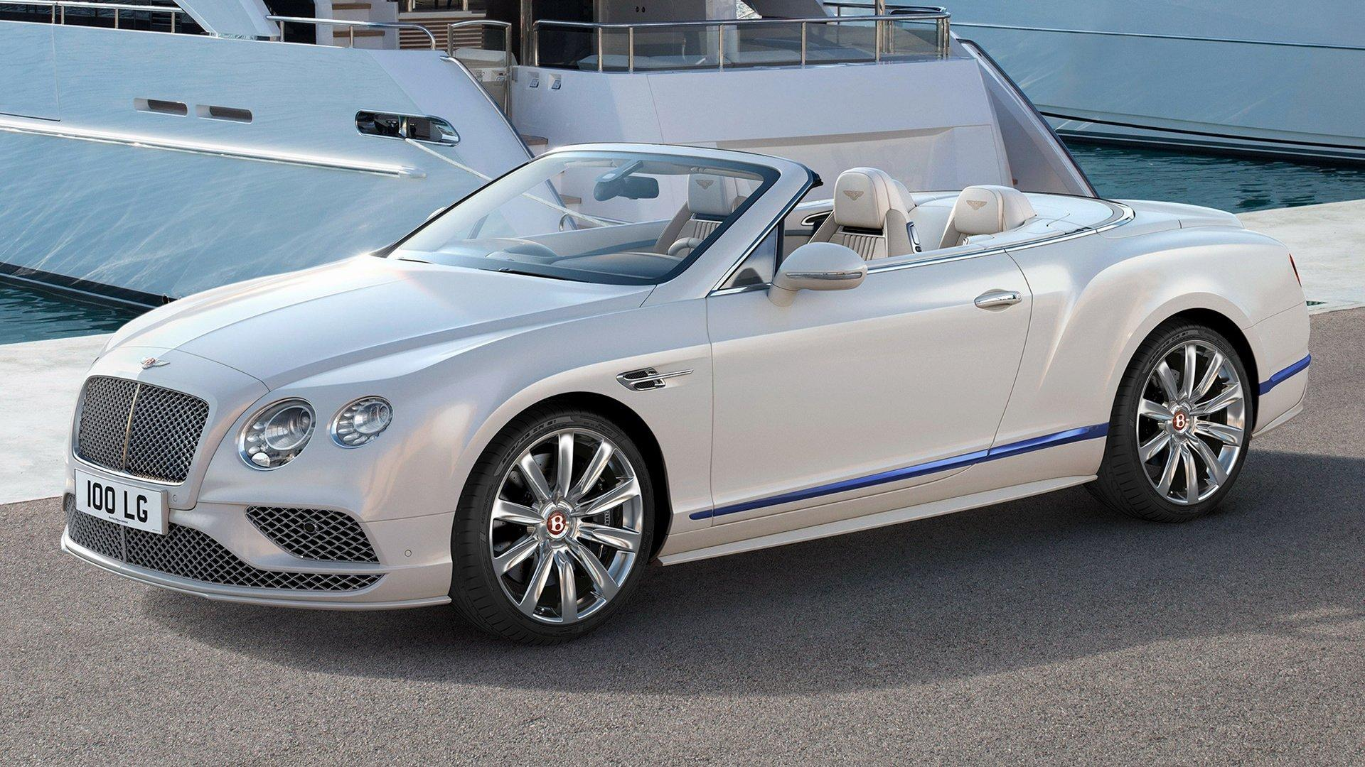 2017 Bentley Continental GT V8 Convertible Galene Edition by