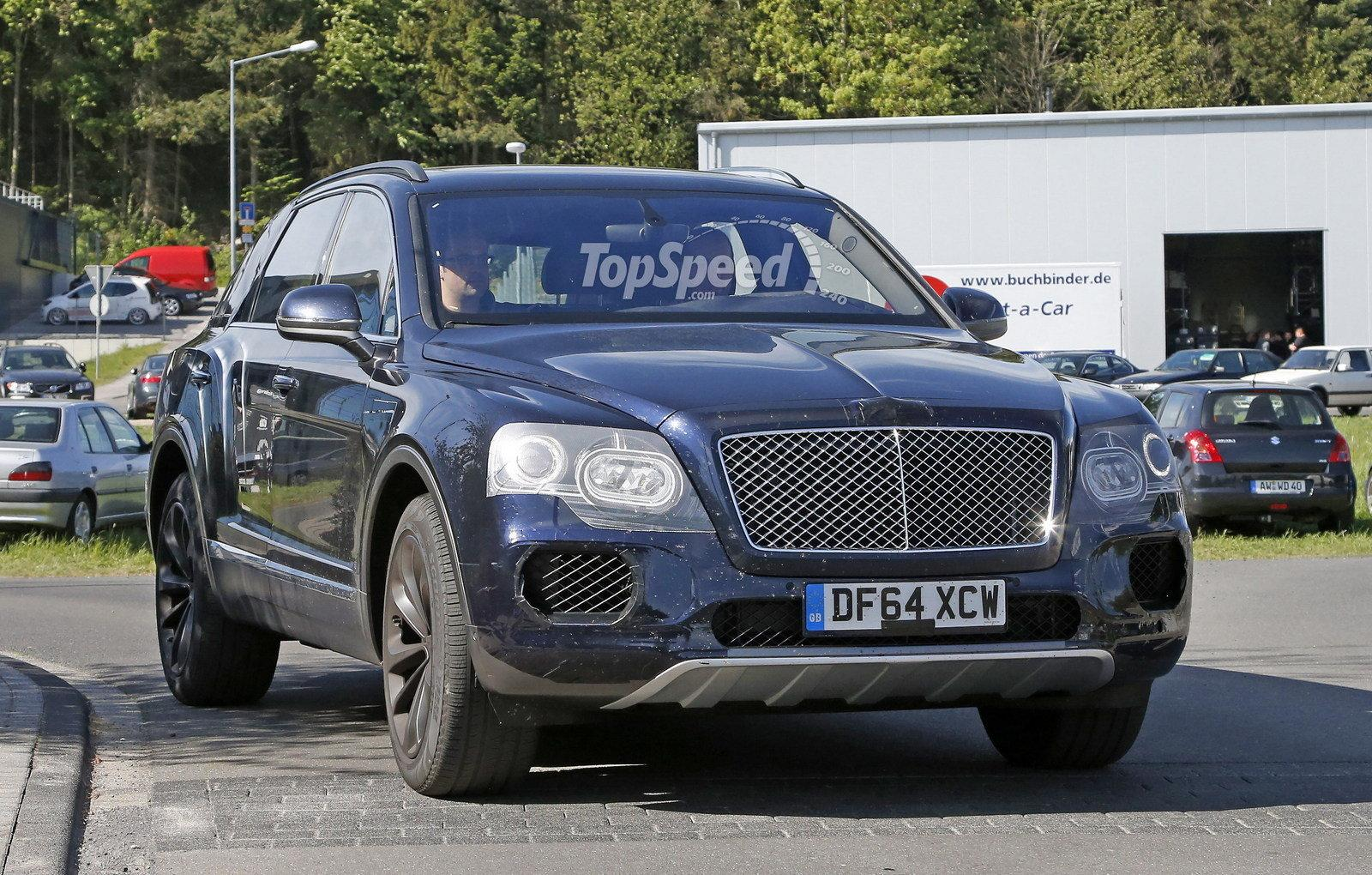 2017 Bentley Bentayga Speed Wallpapers - Taught Of the Day