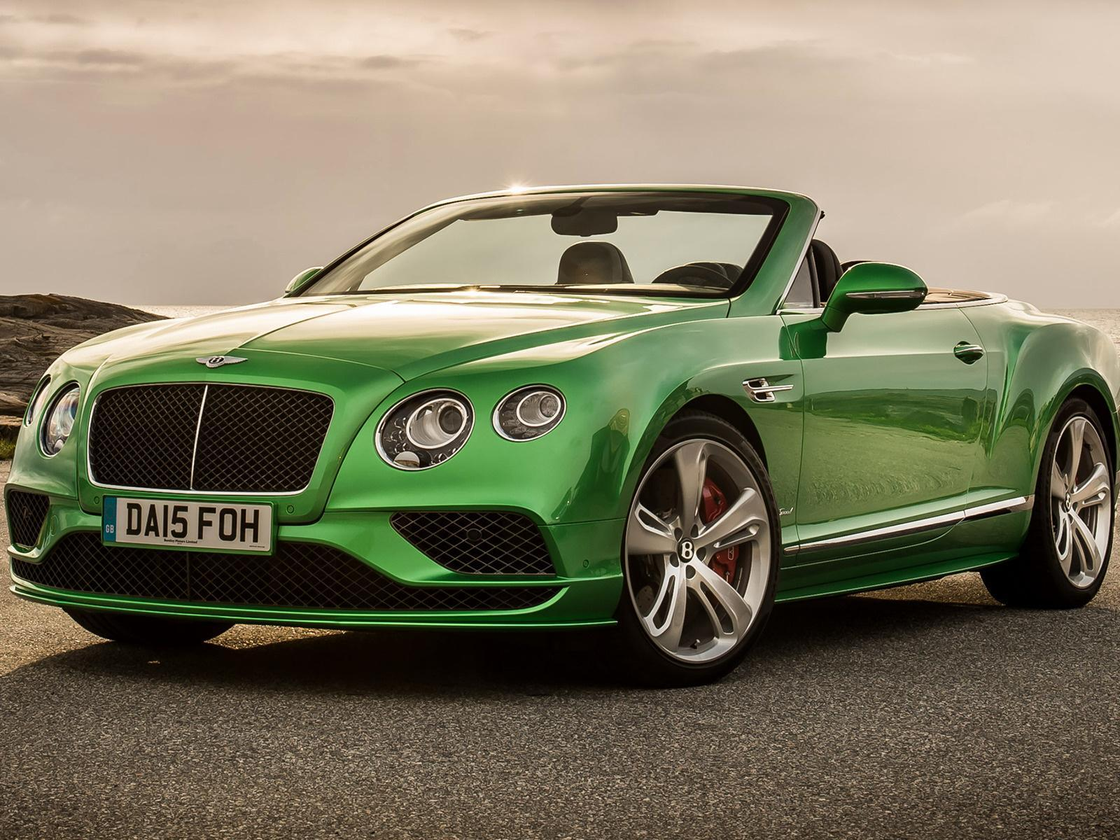 Bentley Continental Gt Speed Convertible Wallpapers HD 3