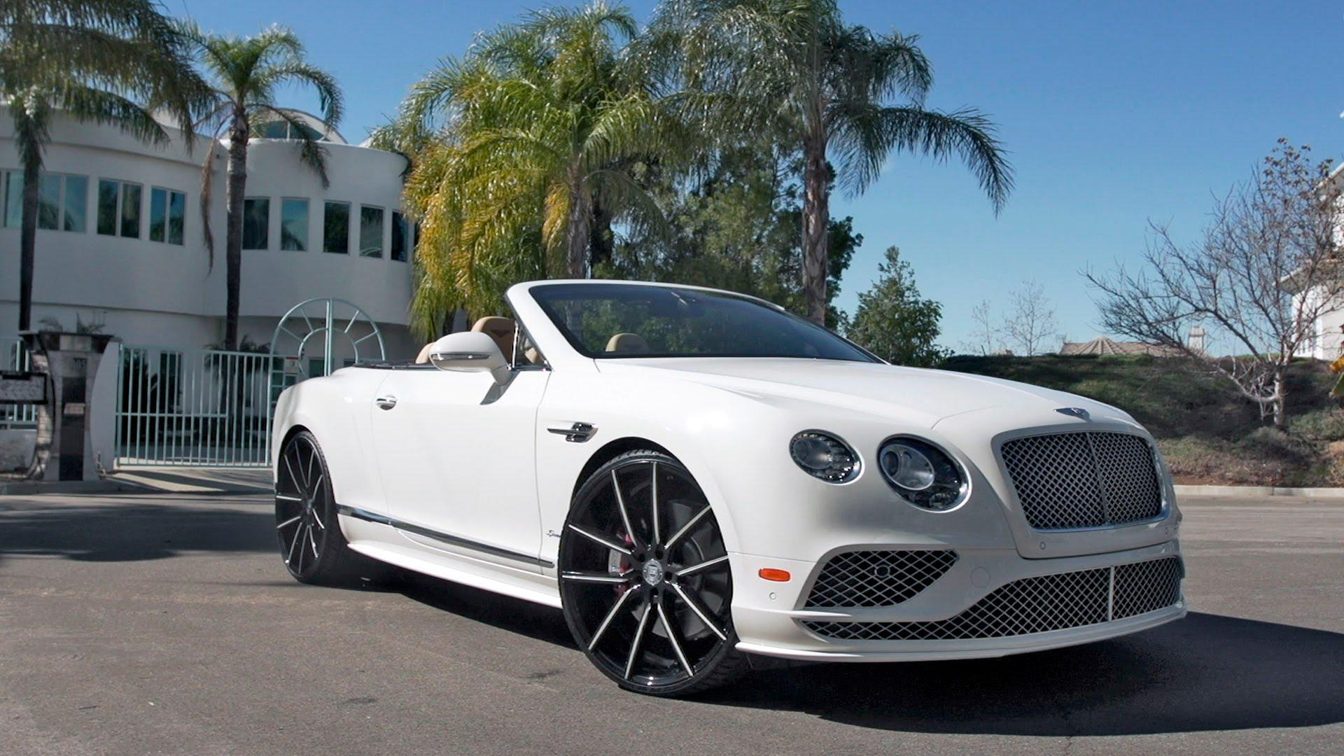 Bentley Continental Gt Speed Convertible Wallpapers HD 13