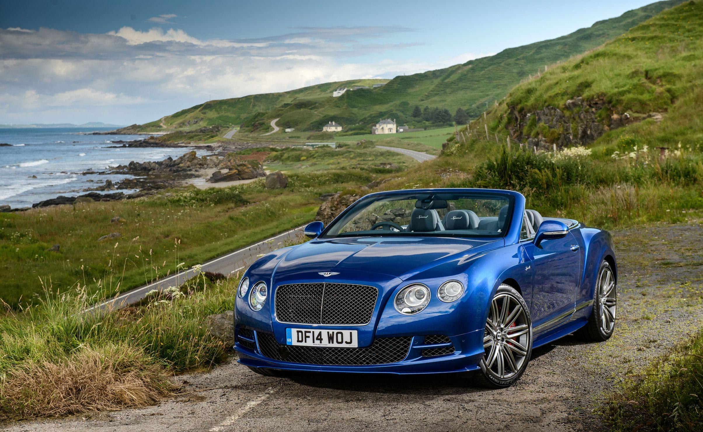 Bentley Continental GT Convertible 2015 new wallpapers
