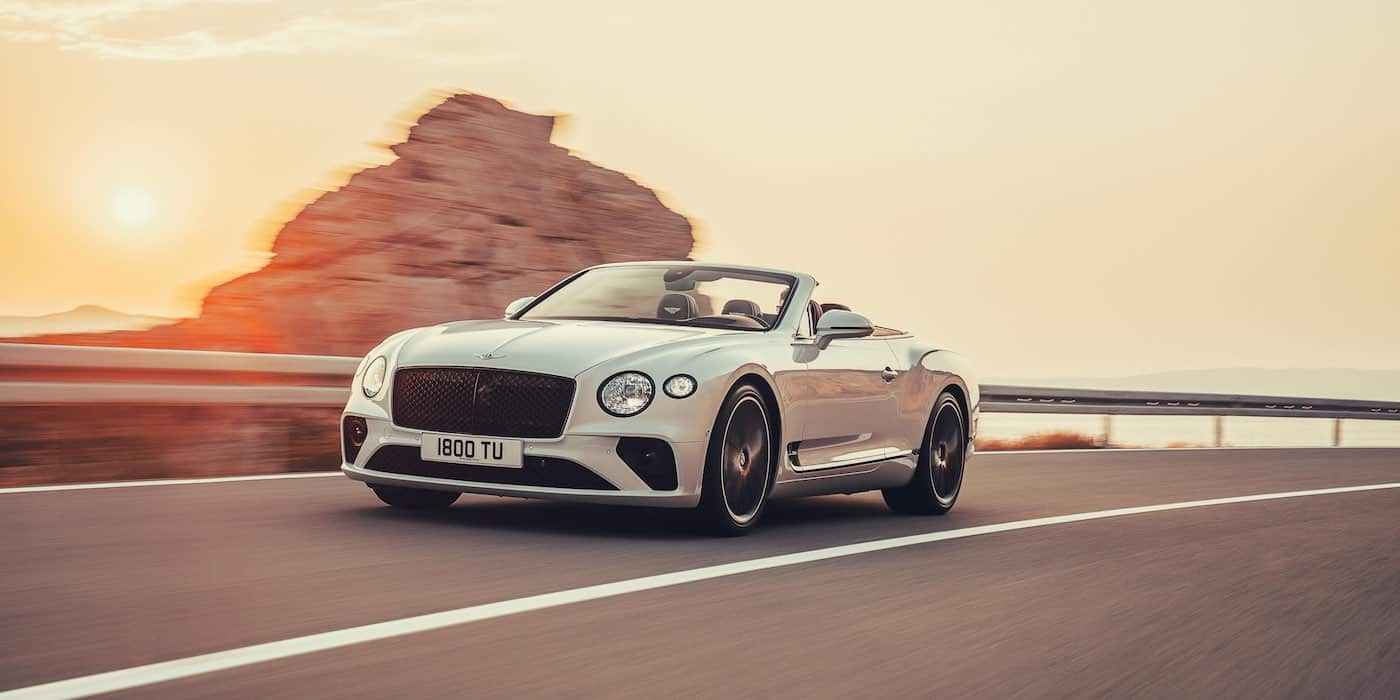New Bentley Continental GT Convertible revealed