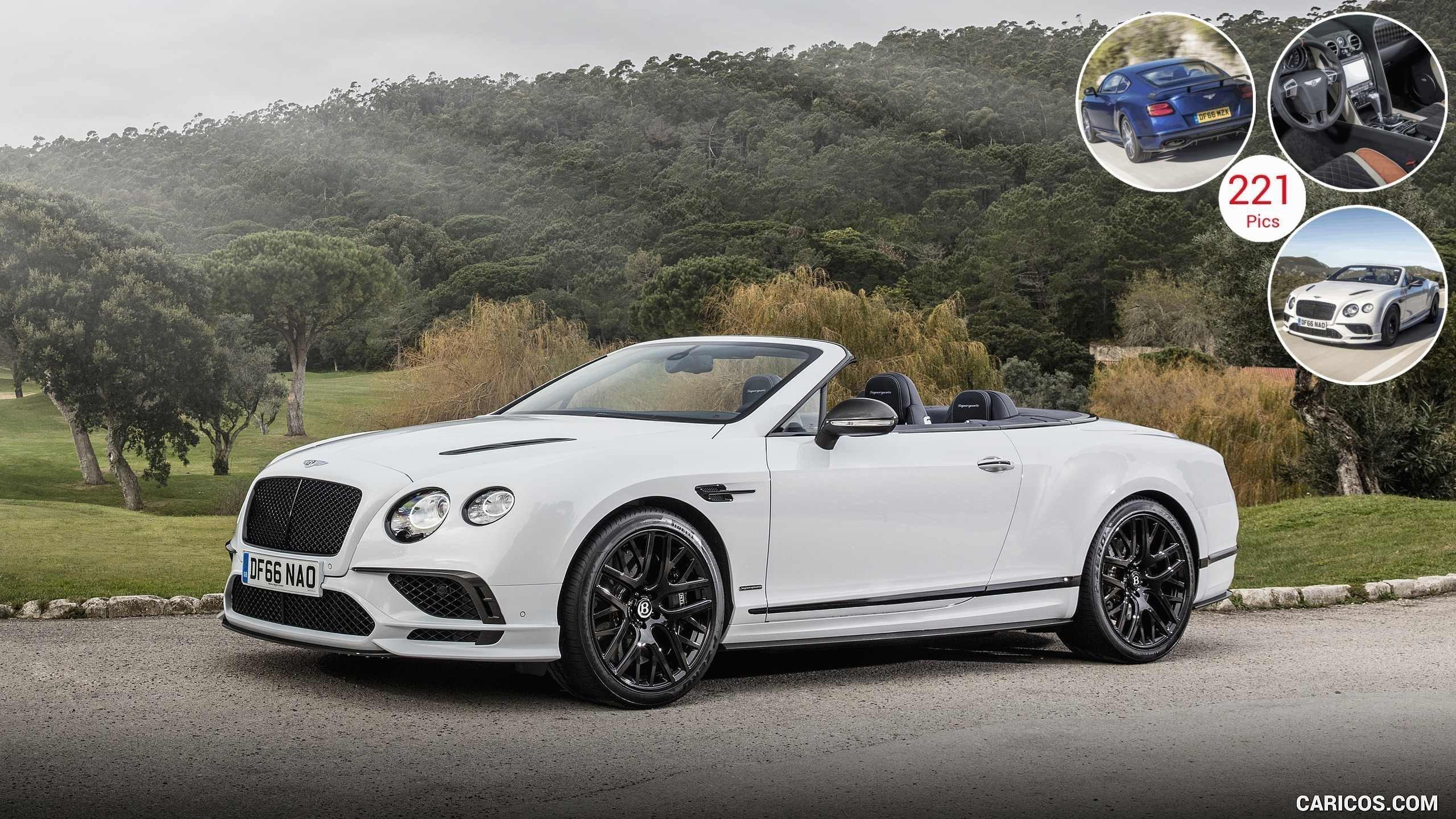 2018 Bentley Continental Gt Supersports Convertible Color Ice Photos