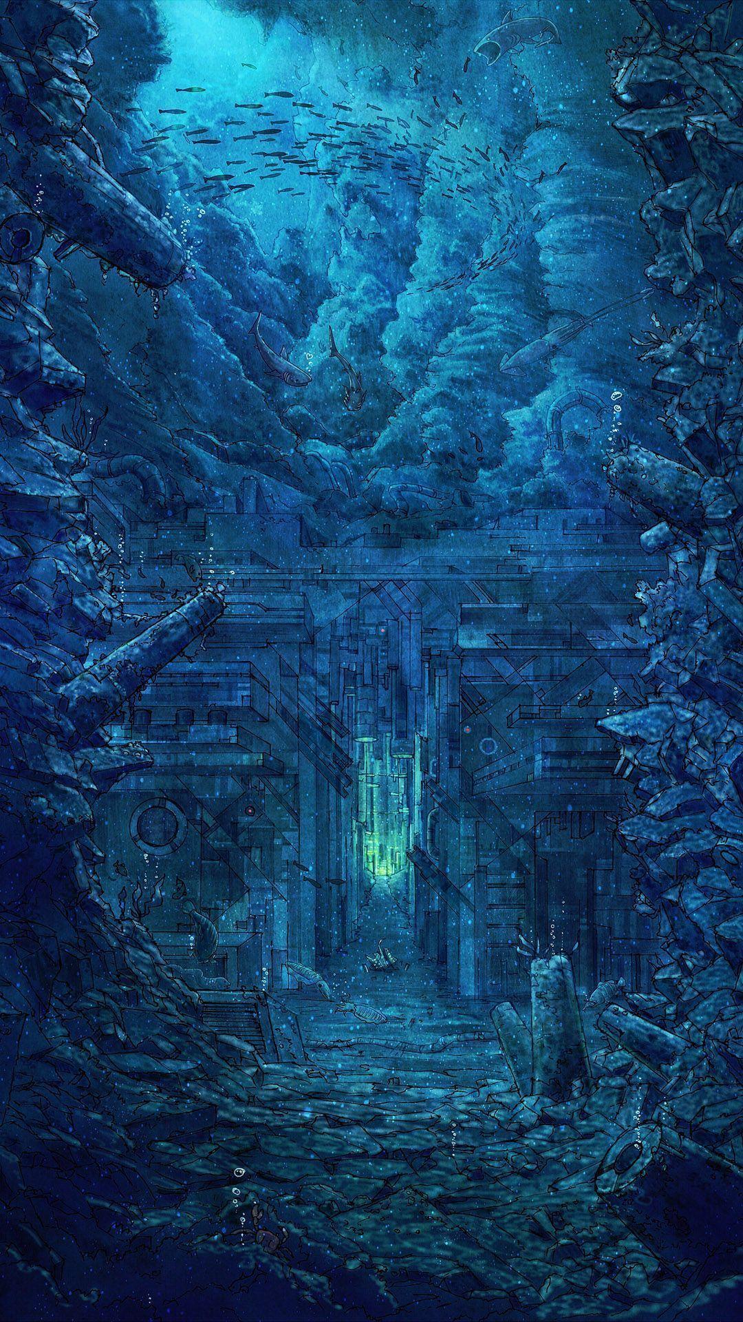Disney Atlantis Iphone Wallpapers Wallpaper Cave