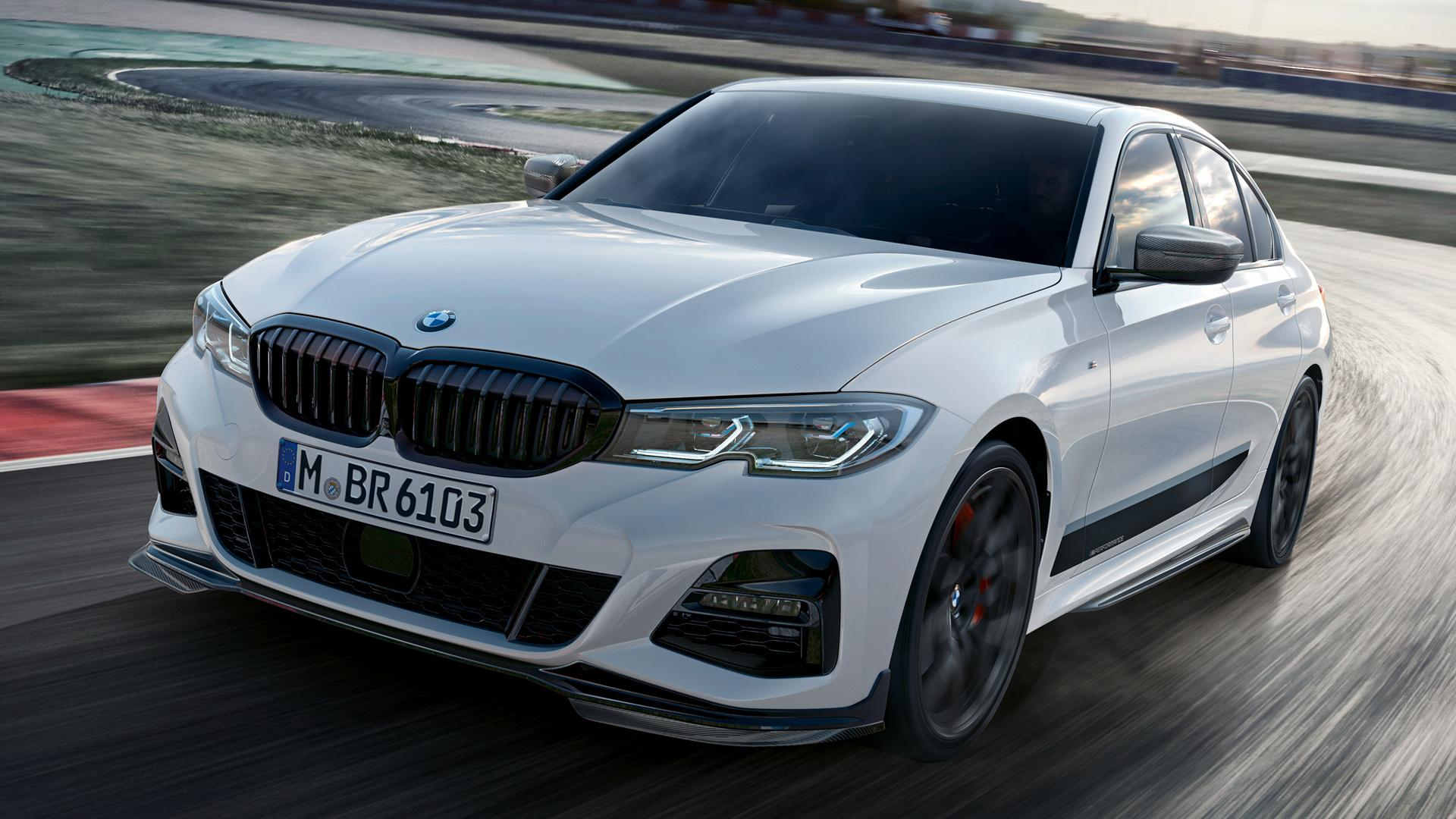 2019 BMW 3 Series with M Performance Parts