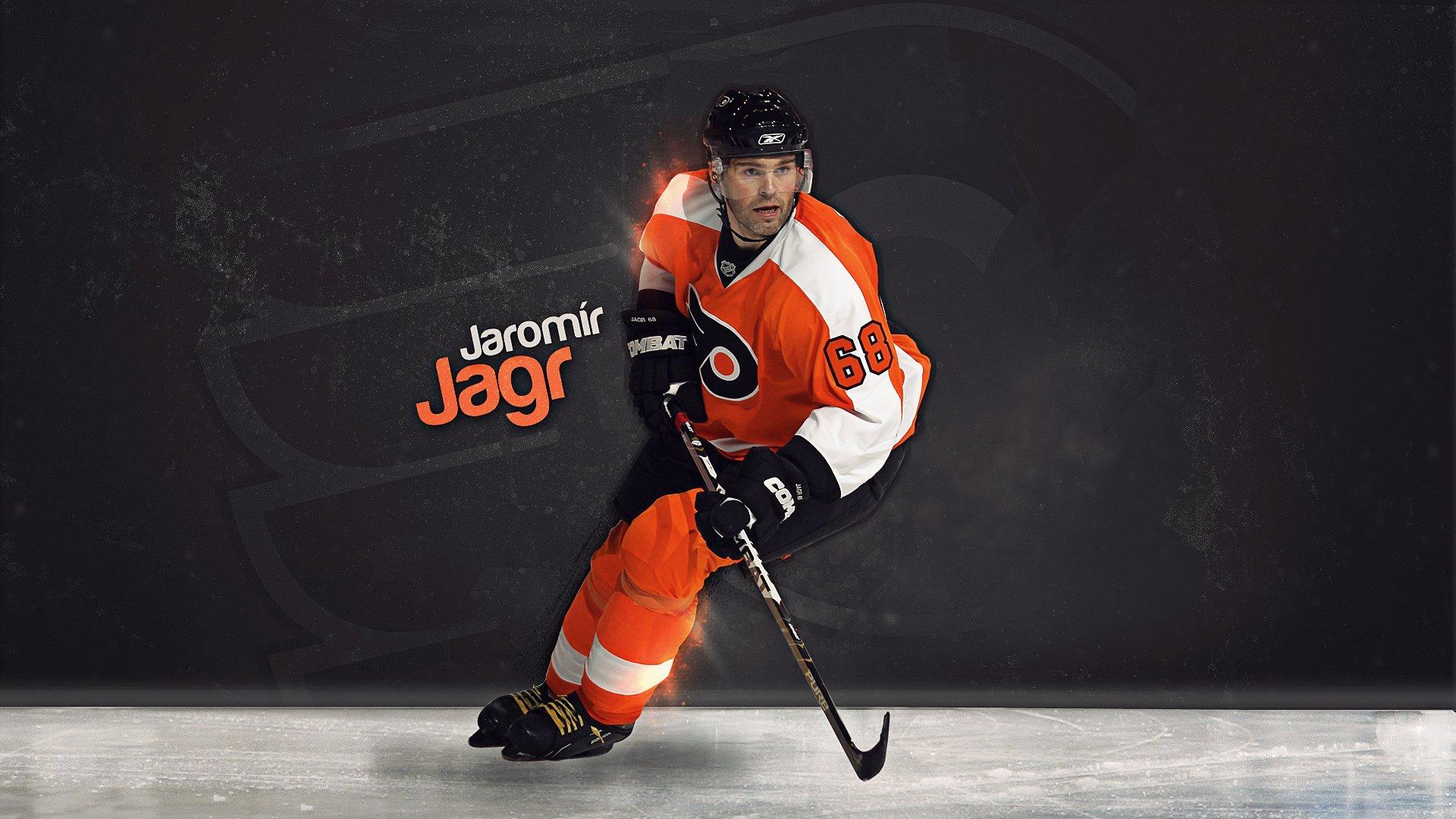 NHL Philadelphia Flyers Jaromir Jagr wallpapers 2018 in Hockey