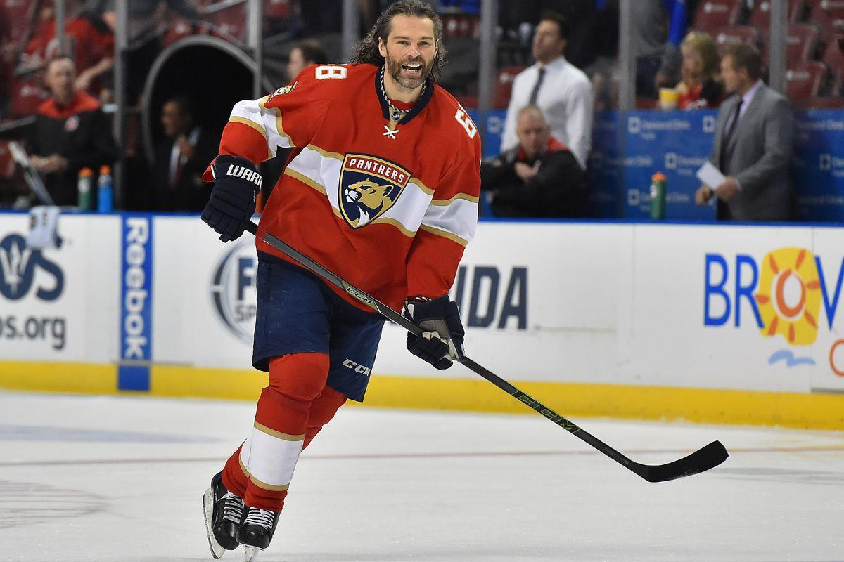 Could Jaromir Jagr be a fit in San Jose?
