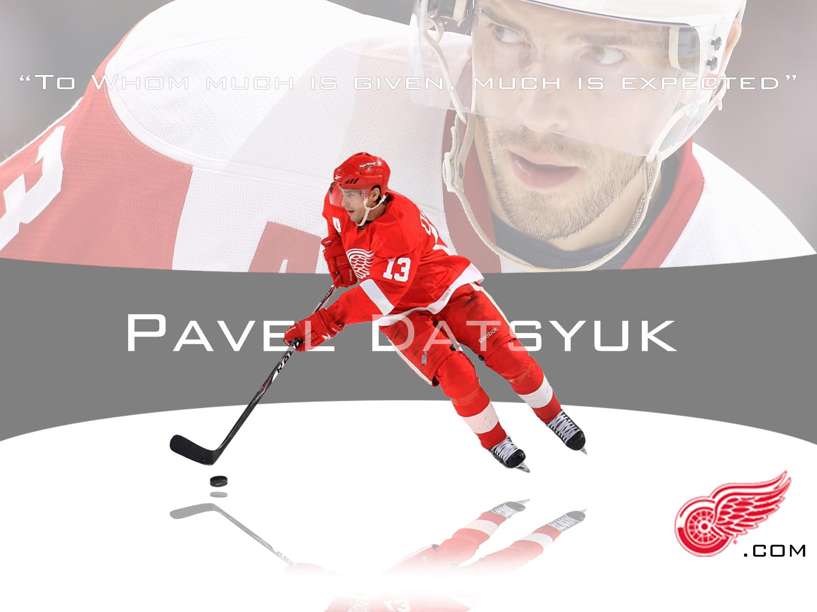Famous Hockey player of Detroit Pavel Datsyuk wallpapers and image