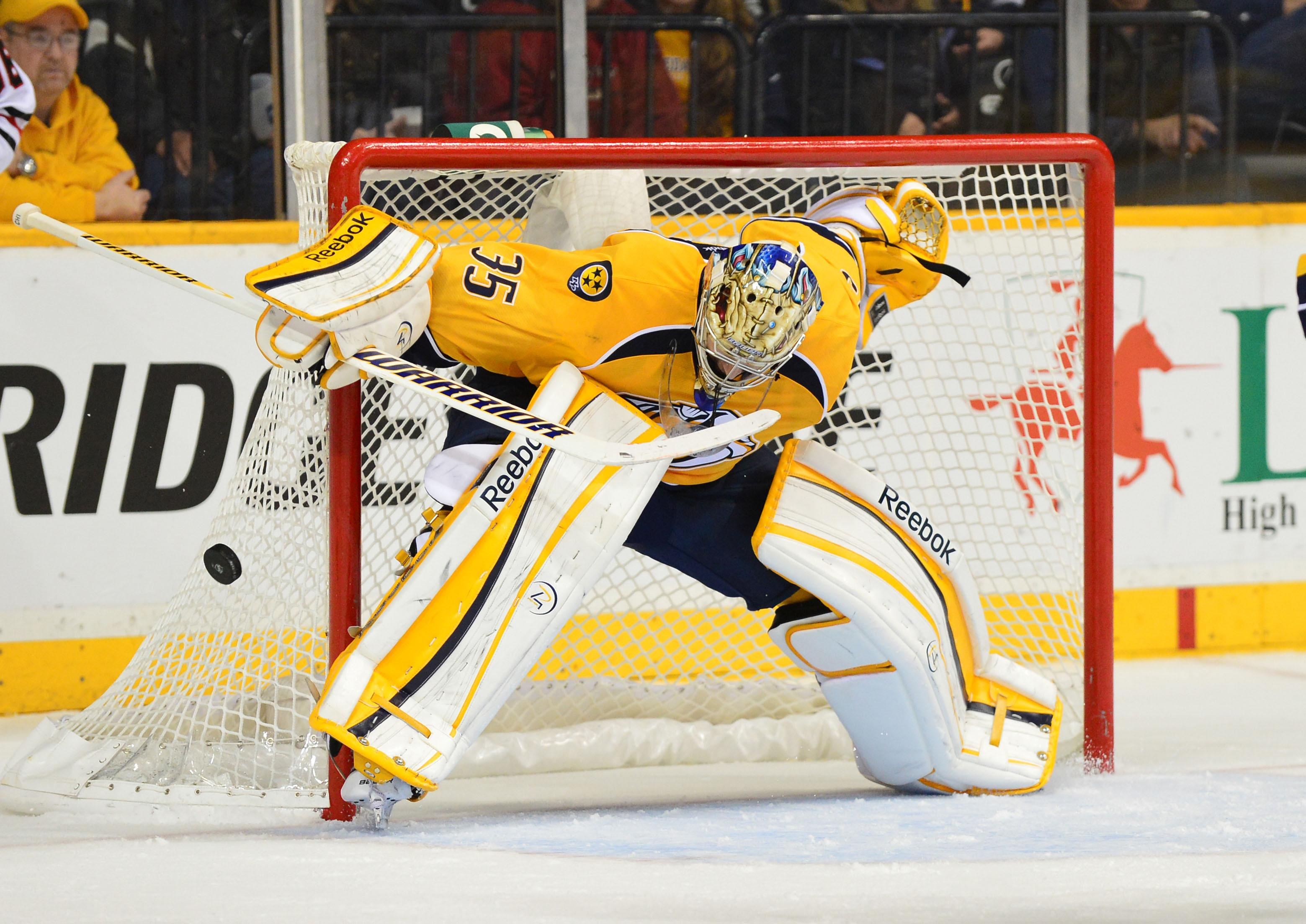 Famous Player of Nashville Pekka Rinne wallpapers and image