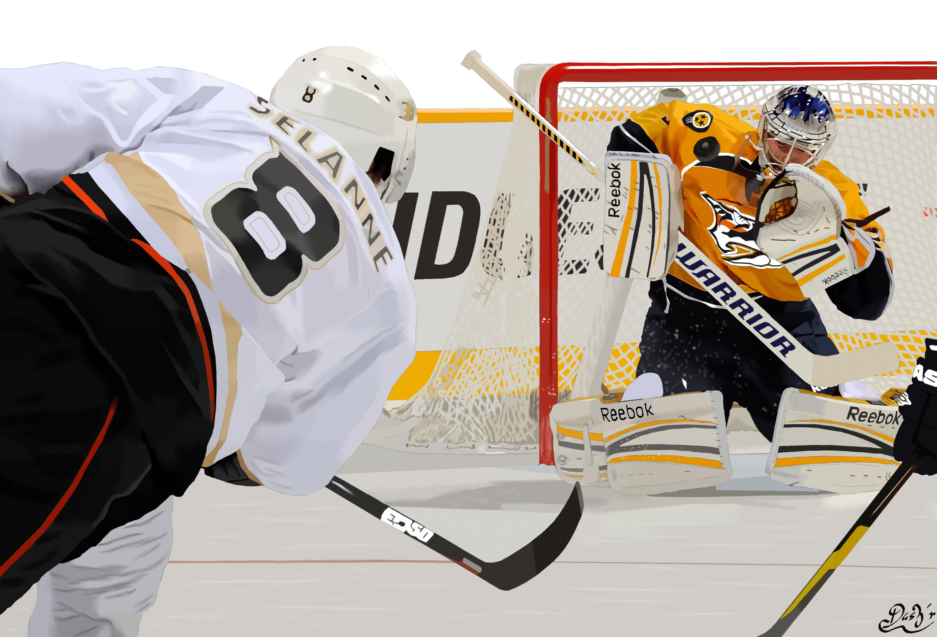 Goalkeeper of Nashville Pekka Rinne wallpapers and image