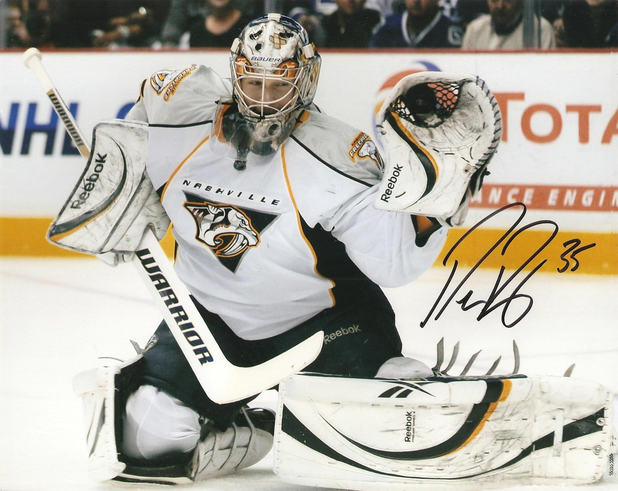 Hockey player Nashville Pekka Rinne wallpapers and image