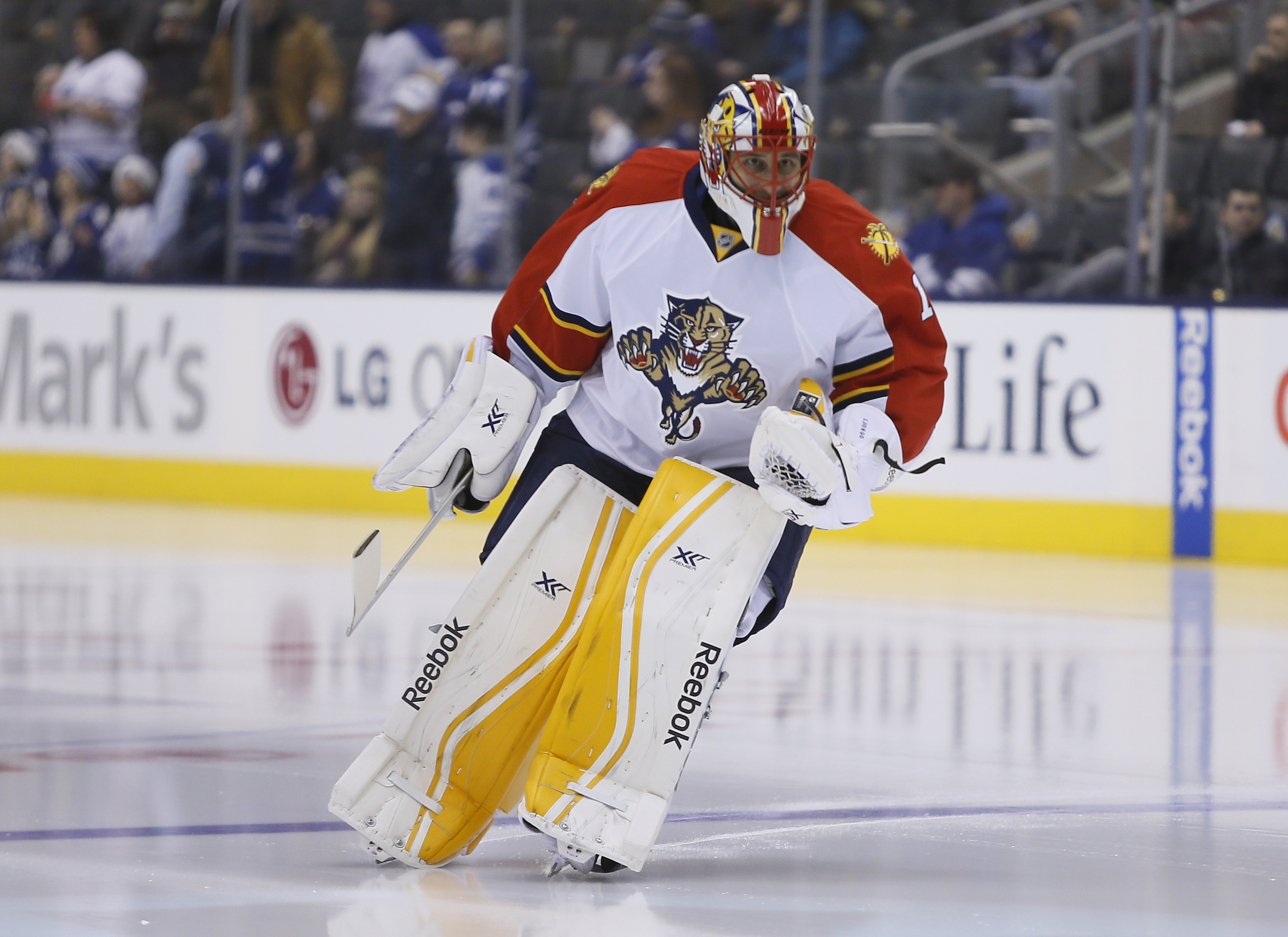 Roberto Luongo will return to Panthers lineup on Thursday