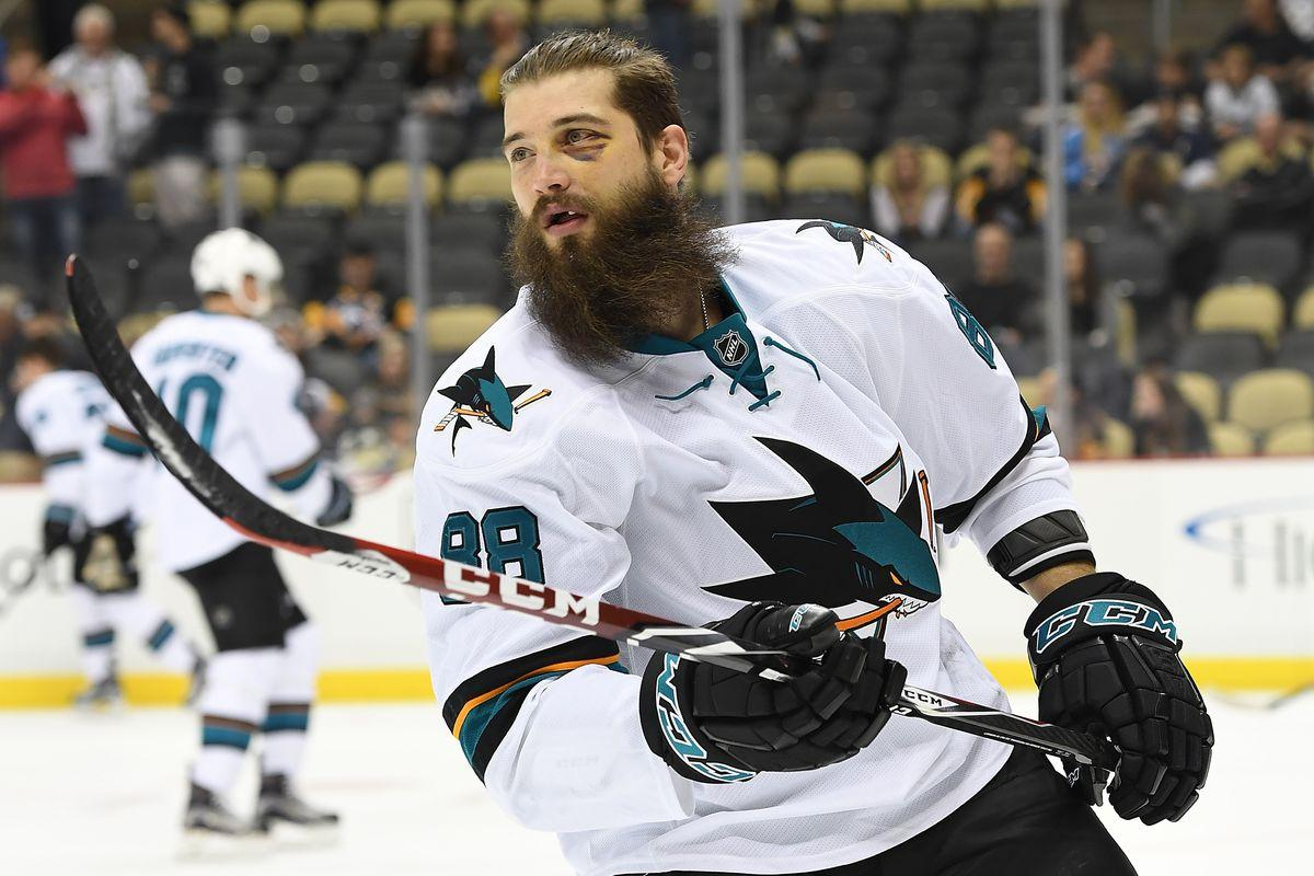 Brent Burns signs 8