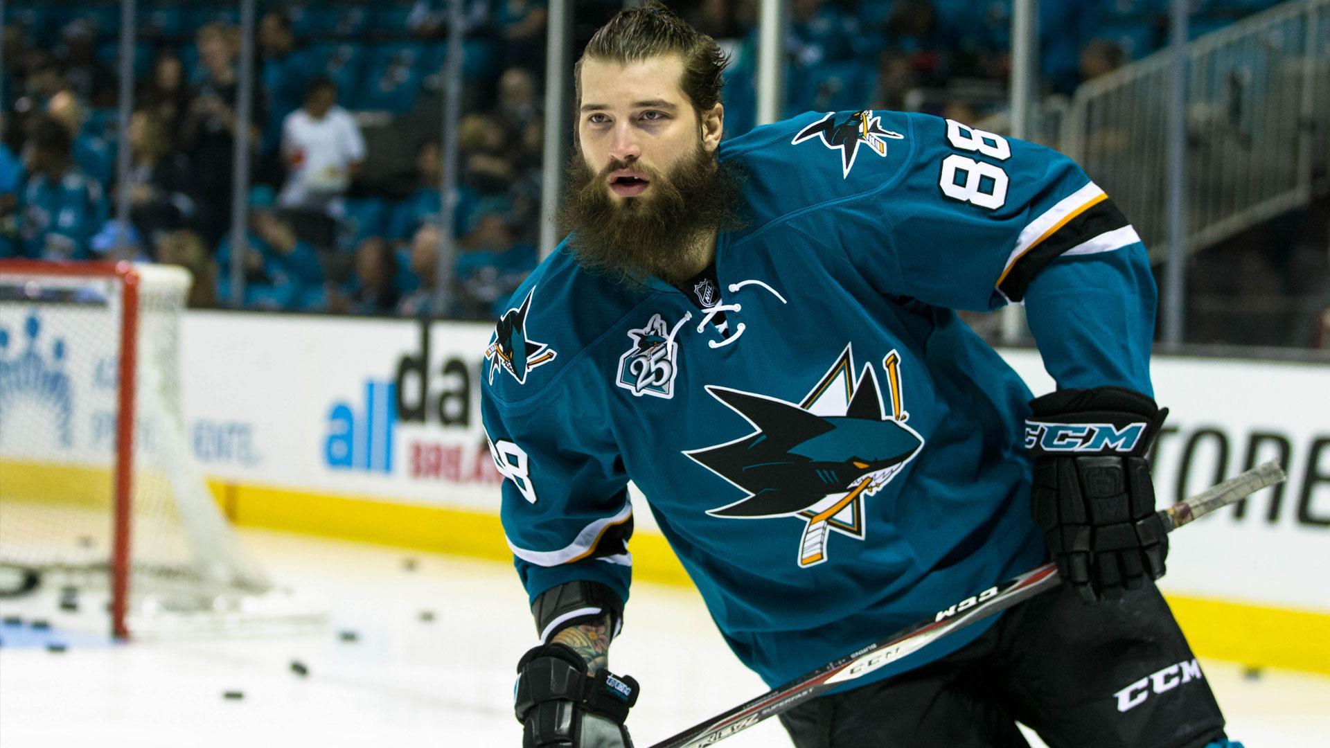 Burns shows love for San Jose after signing extension with Sharks