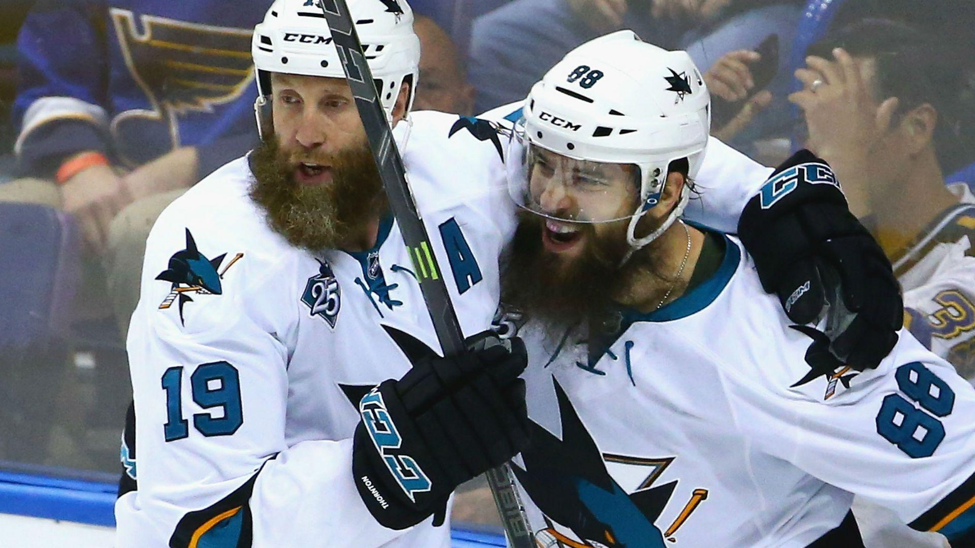 Stanley Cup playoffs three stars: Brent Burns doubles up as Sharks