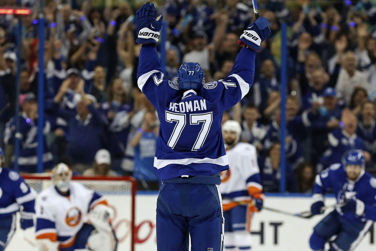 Quick Strikes: Tampa Bay Lightning defenseman Victor Hedman is a ...