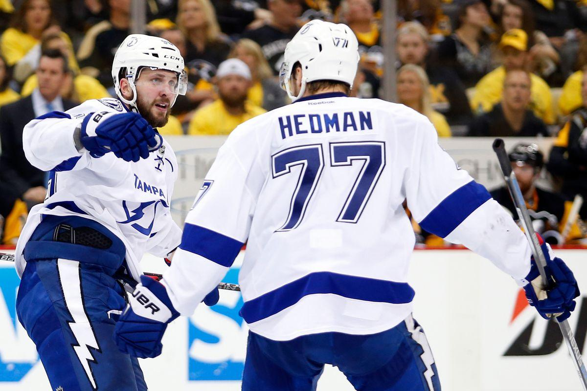 Nikita Kucherov and Victor Hedman named to NHL All-Star Game - Raw ...