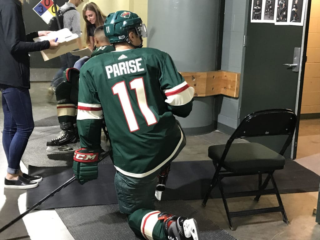 "Ryan Suter on Zach Parise: ""As a friend, it's awful. As a team, it"