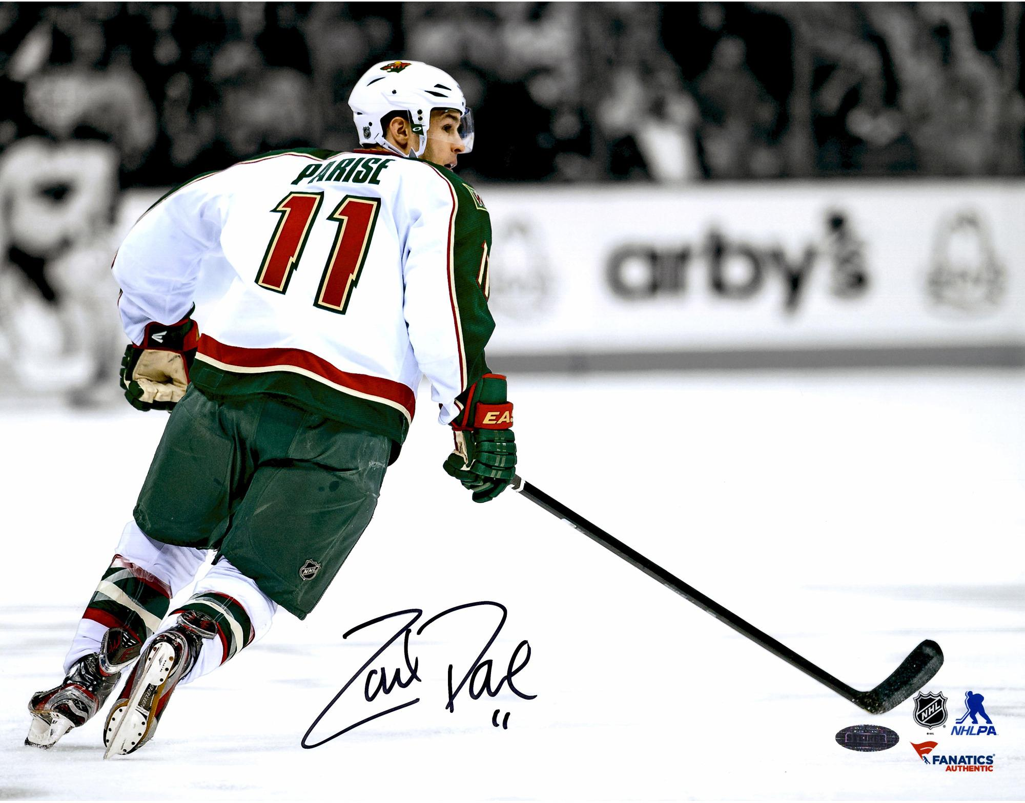 Zach Parise Autograph Signings