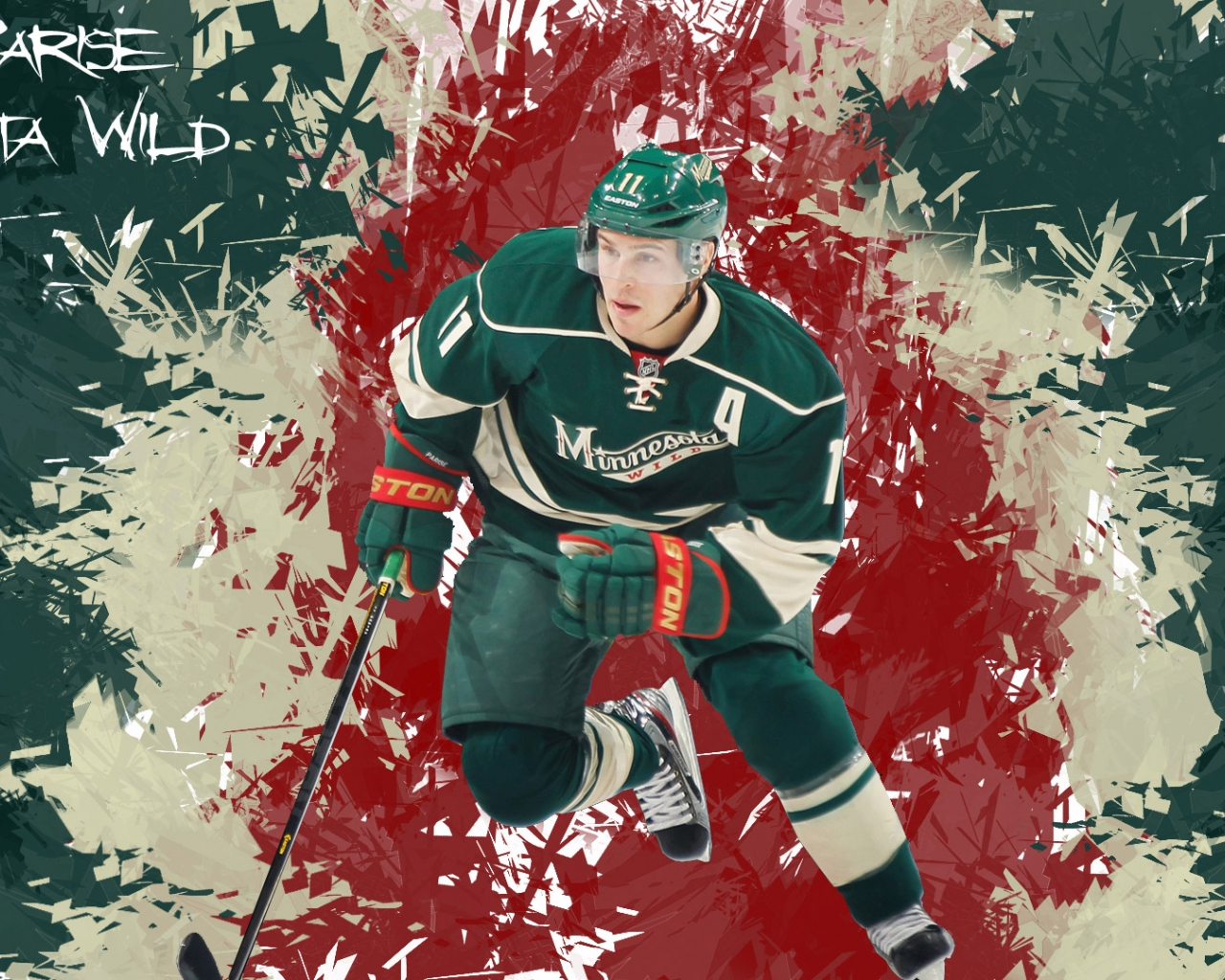 1920x1080px MN Wild Hockey Wallpapers