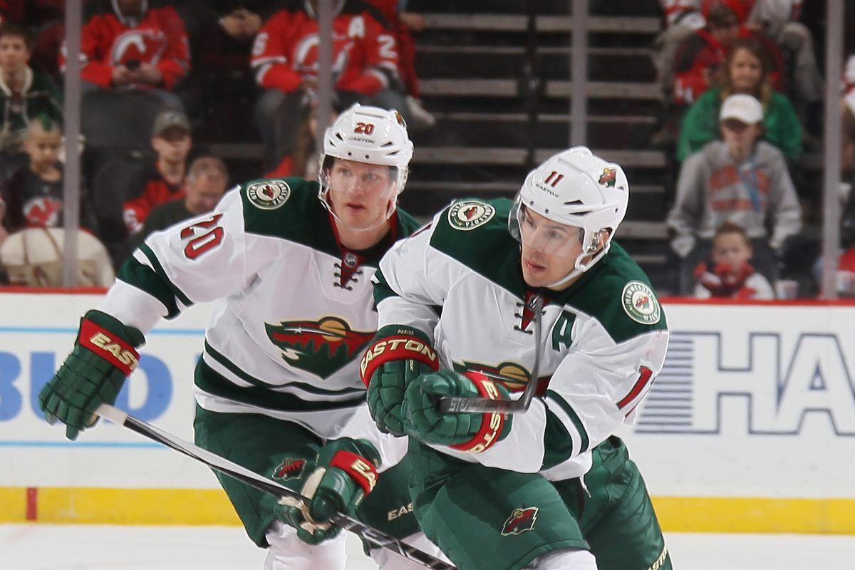 Minnesota finally starting to strain under weight of Parise, Suter