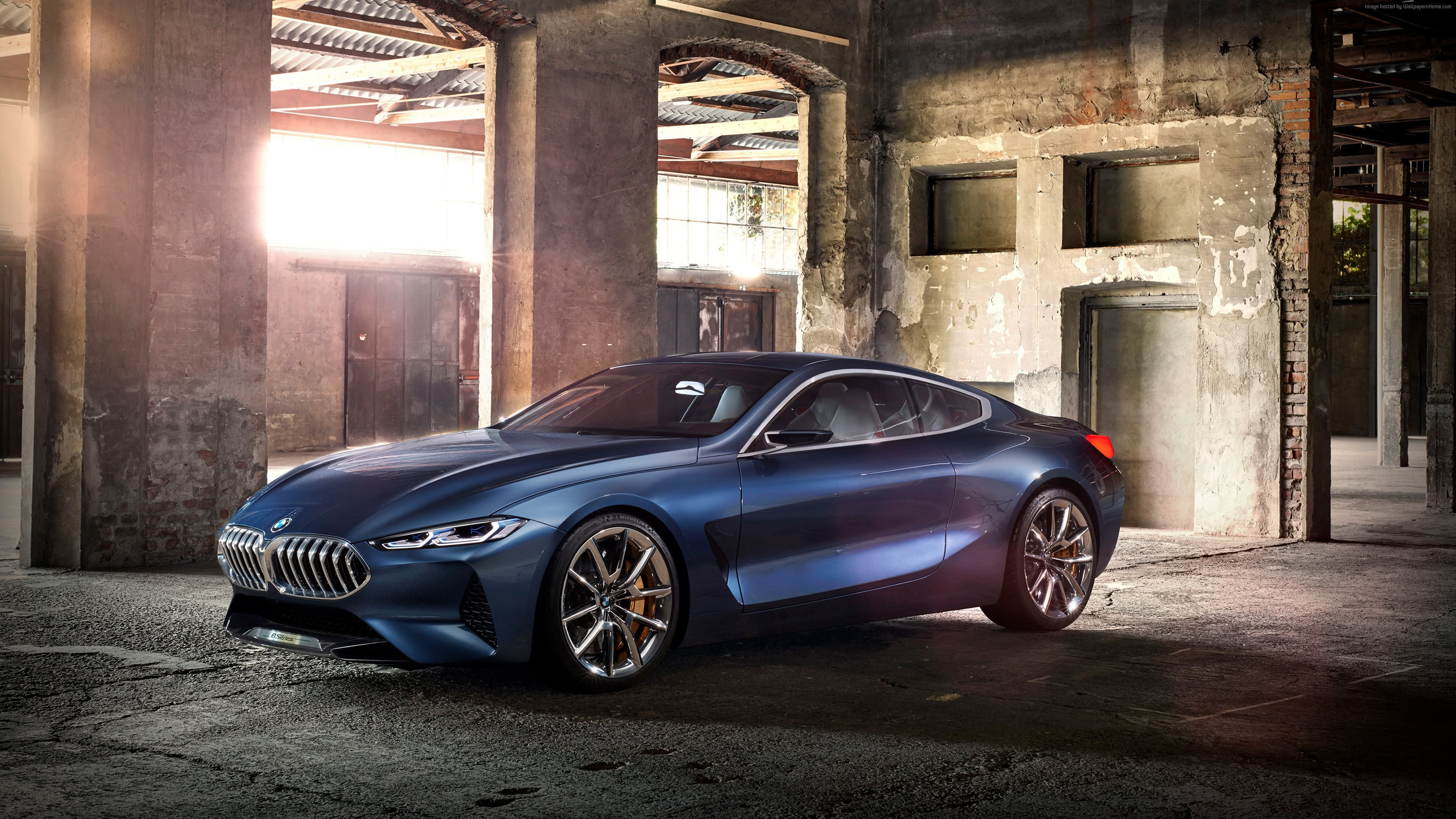 BMW 8 Series Gran Coupe UHD 4K Wallpapers