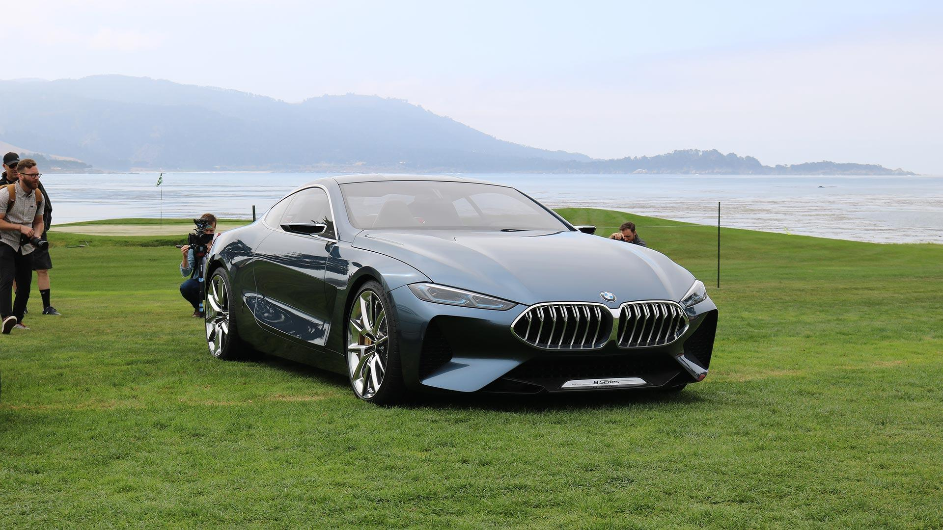 BMW 8 Series Concept Makes North American Debut At Pebble Beach