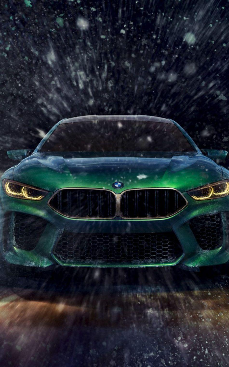 BMW Concept M8 Gran Coupe HD Mobile Wallpapers