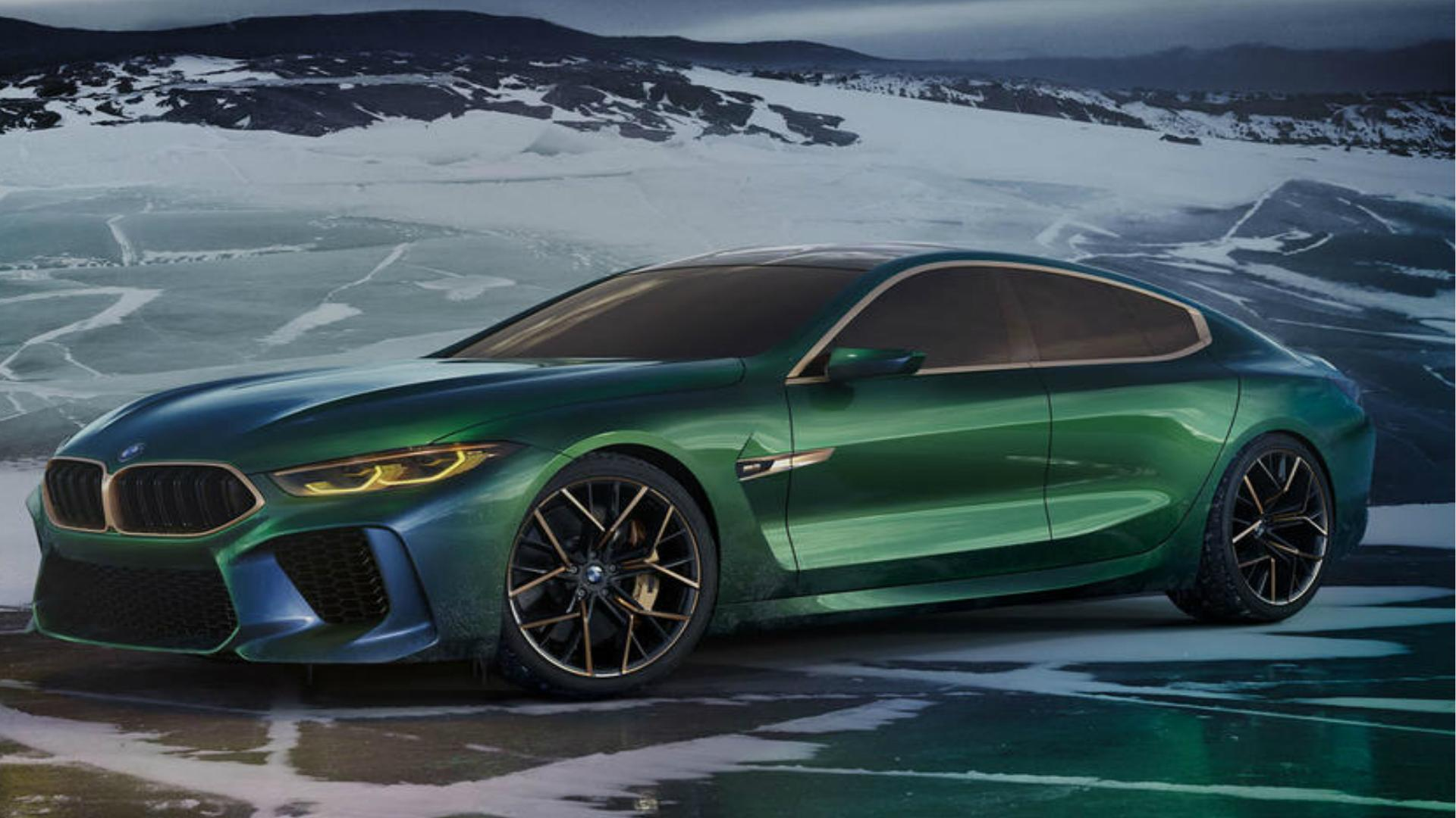 BMW M8 Gran Coupe Concept Debuts at 2018 Geneva Motor Show
