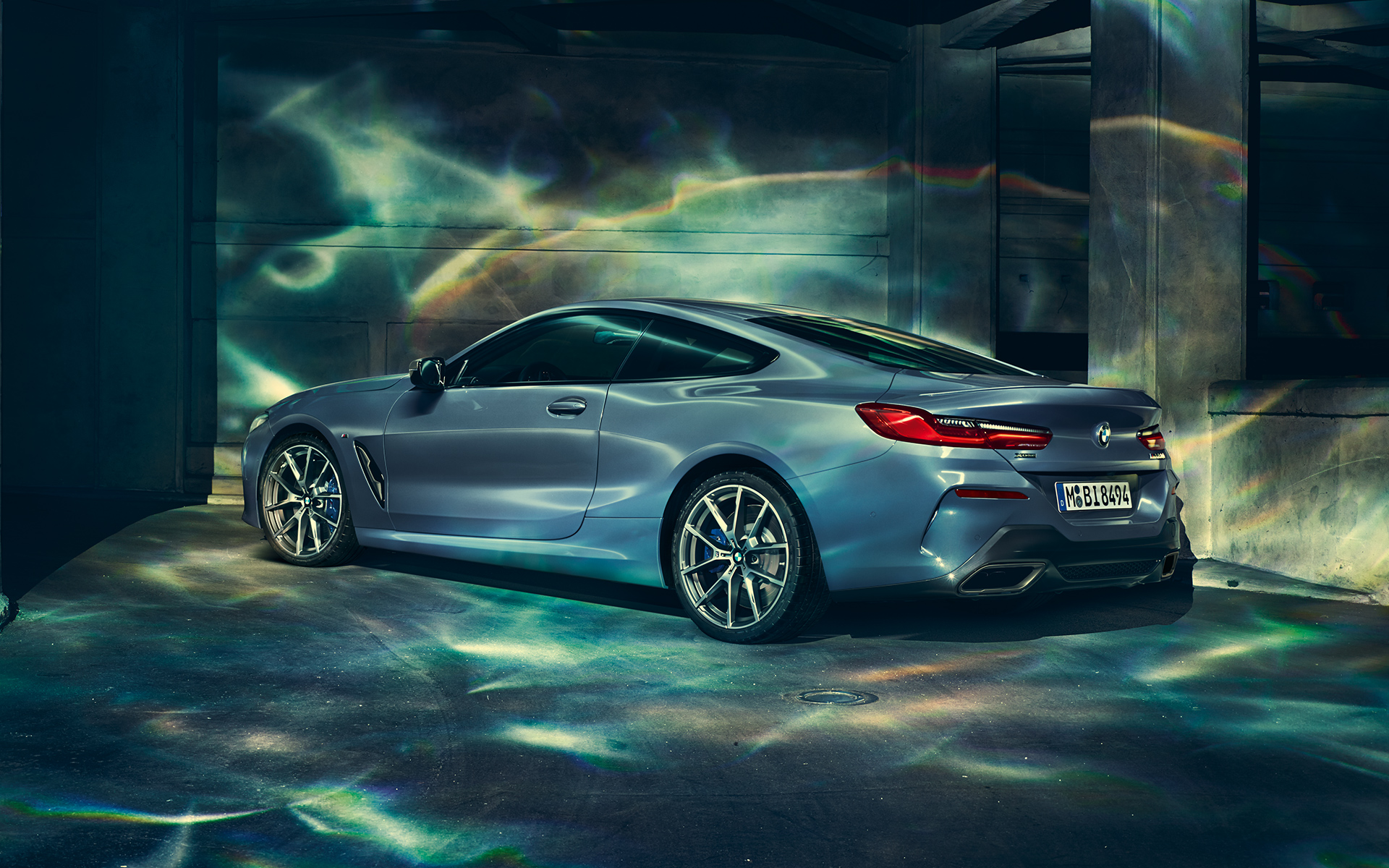 THE 8: Image & Videos of the BMW 8 Series Coupé