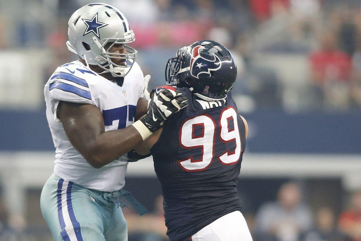 Cowboys Tyron Smith Wins NFC Offensive Player Of The Week - Blogging ...
