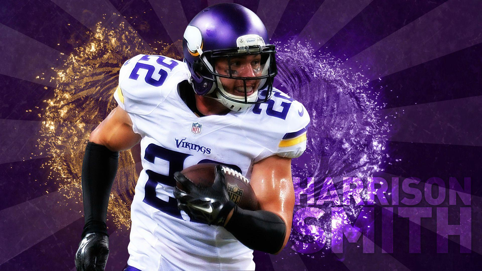 Anybody have any good Harrison smith wallpapers? : minnesotavikings
