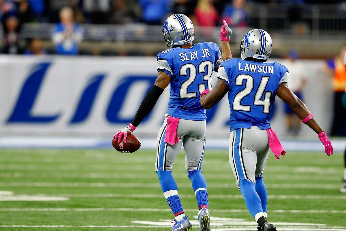 Lions notes: Vote for Darius Slay as 'Clutch Performer of the Week