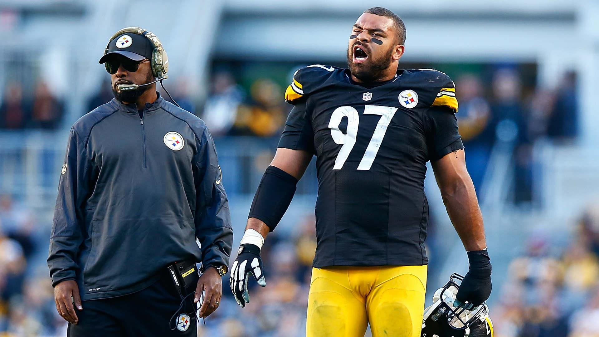 Cam Heyward says blaming Mike Tomlin for Steelers struggles is 'a