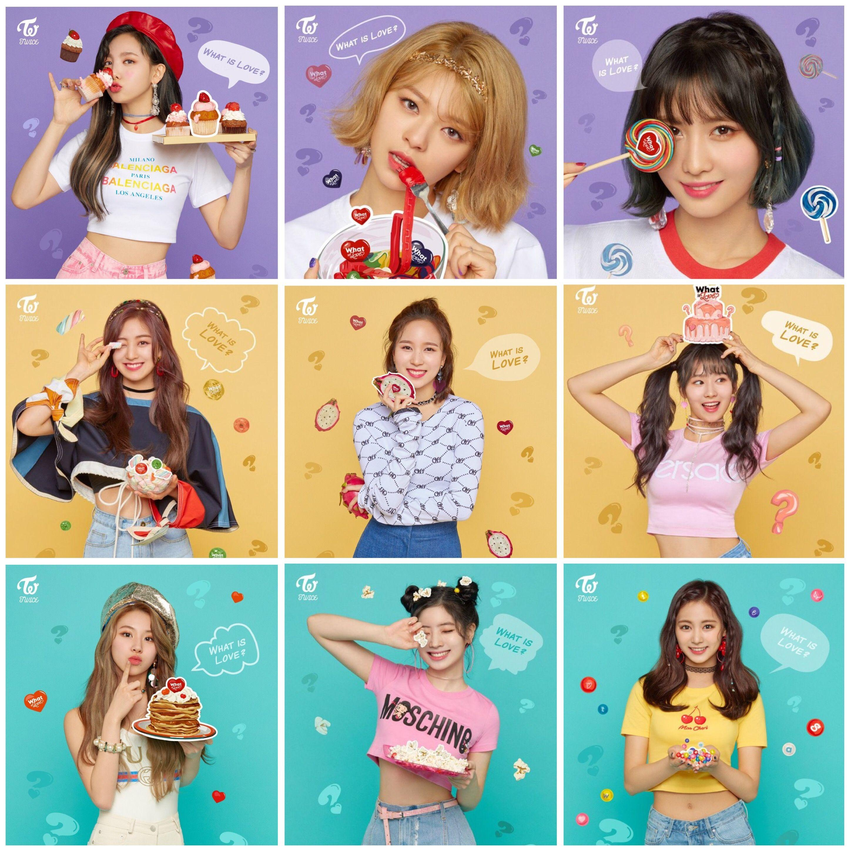 TWICE What Is Love? Wallpapers - Wallpaper Cave