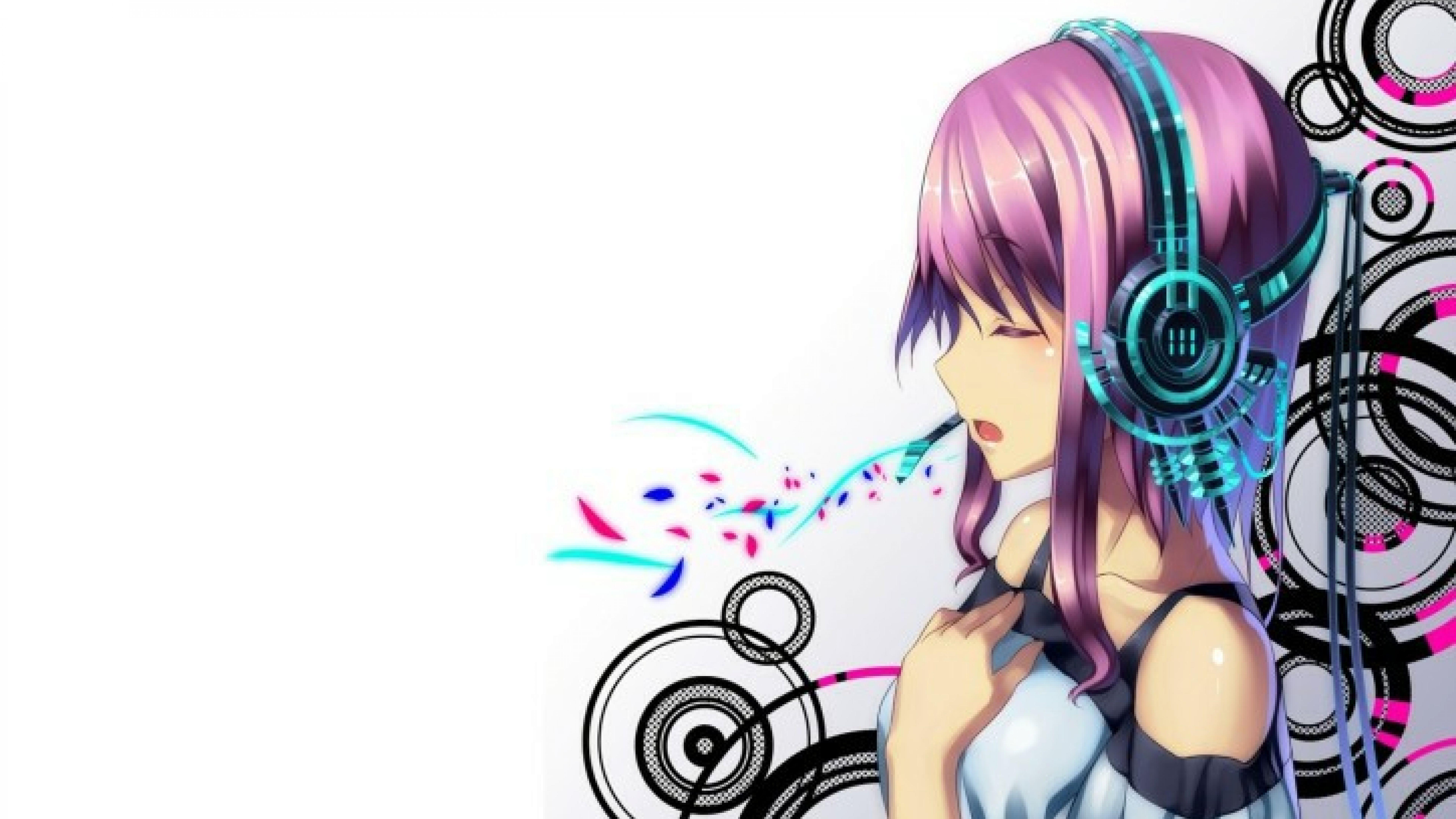 3d Wallpaper Anime Music gambar ke 8