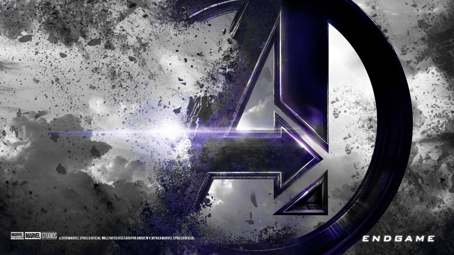 avengers endgame logo desktop wallpapers wallpaper cave desktop wallpapers wallpaper cave
