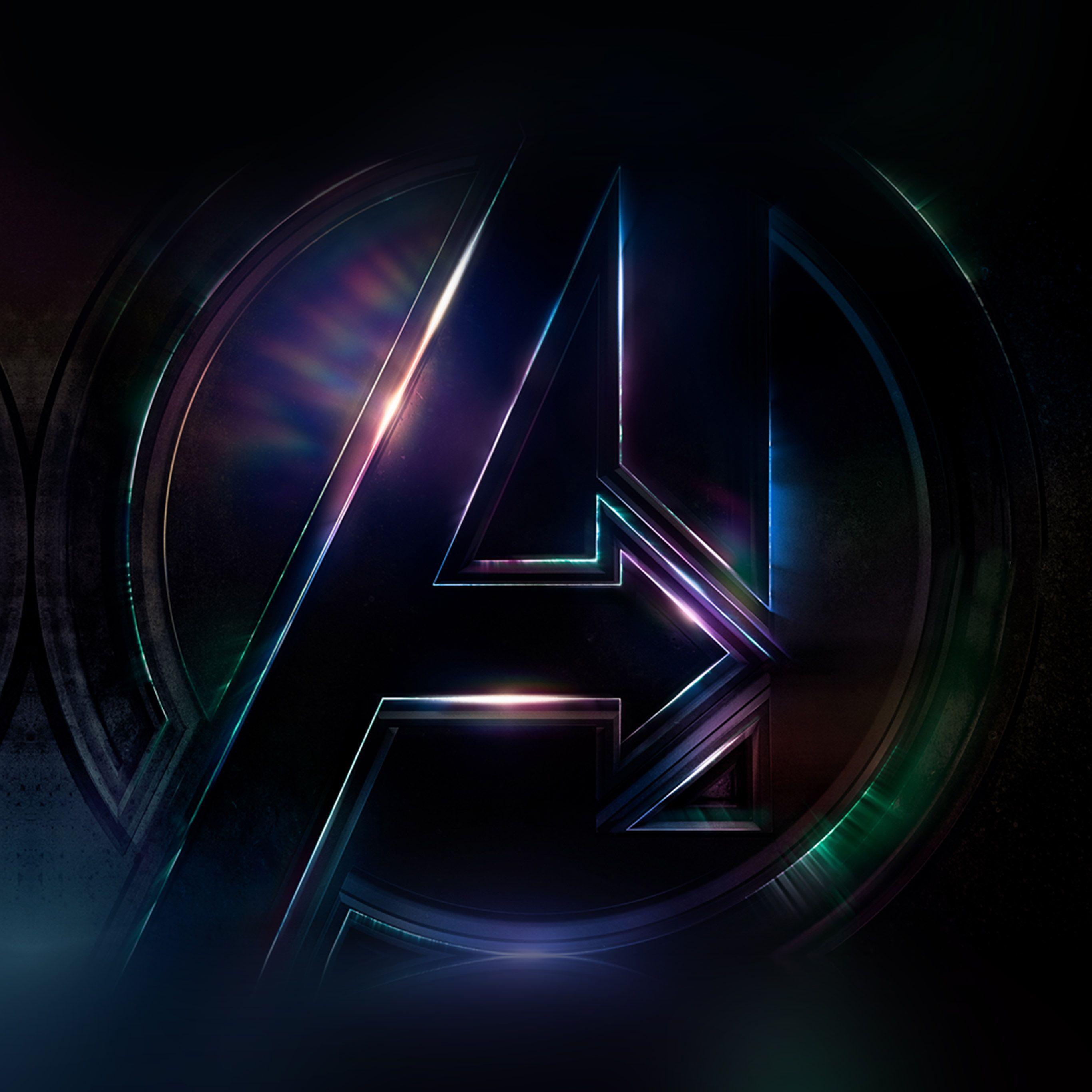 Avengers endgame logo wallpapers wallpaper cave - Avengers symbol wallpaper ...