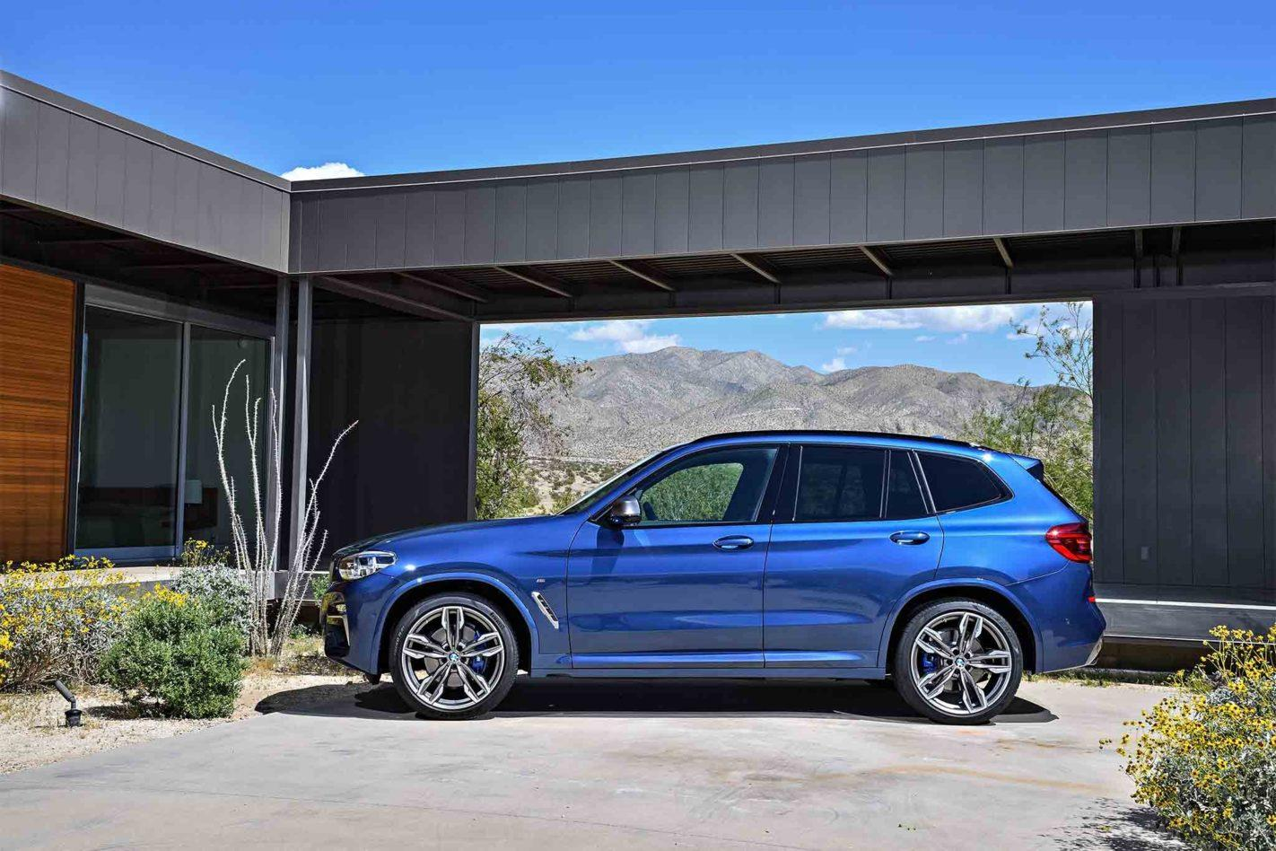 2019 BMW X3 Side HD Wallpapers | Auto Car Rumors