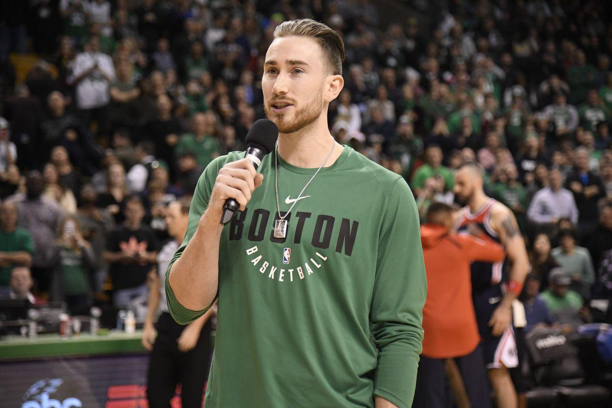 How Gordon Hayward can impact the Celtics without playing in games ...
