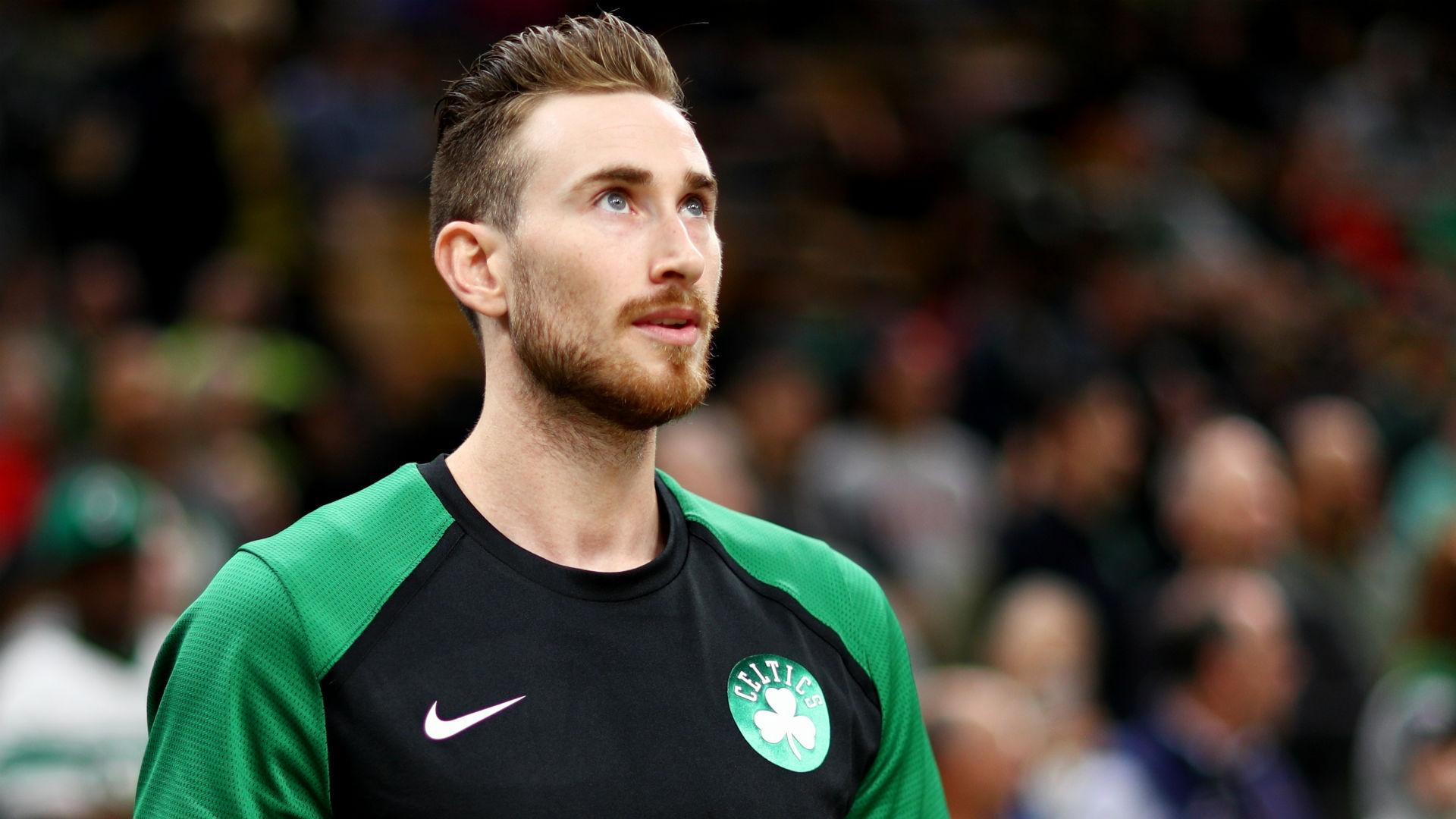 Celtics move F Gordon Hayward out of starting lineup