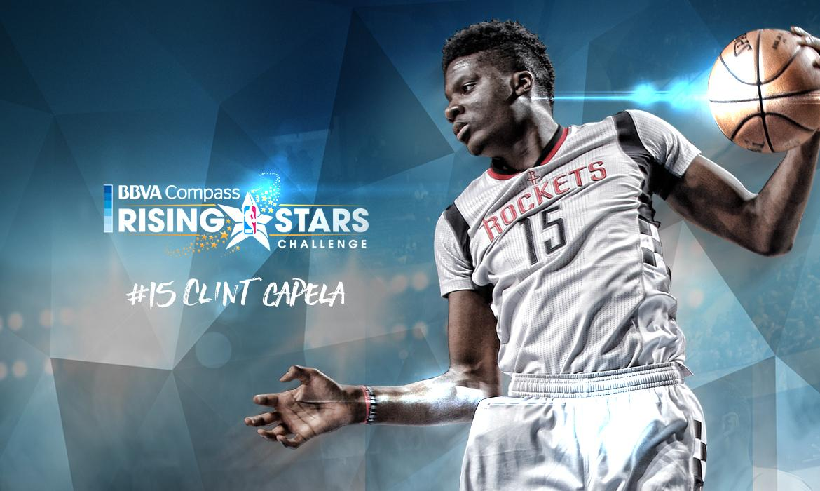 Clint Capela Selected to Compete in BBVA Compass Rising Stars ...