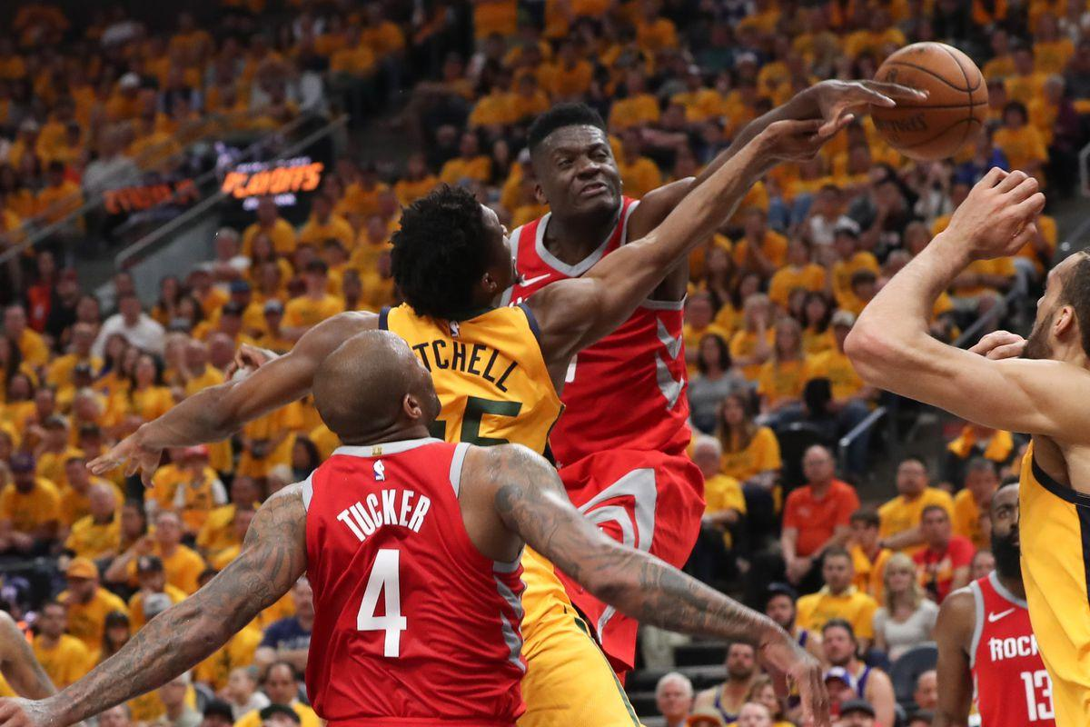 Clint Capela went from boy to man in Game 4 - The Dream Shake