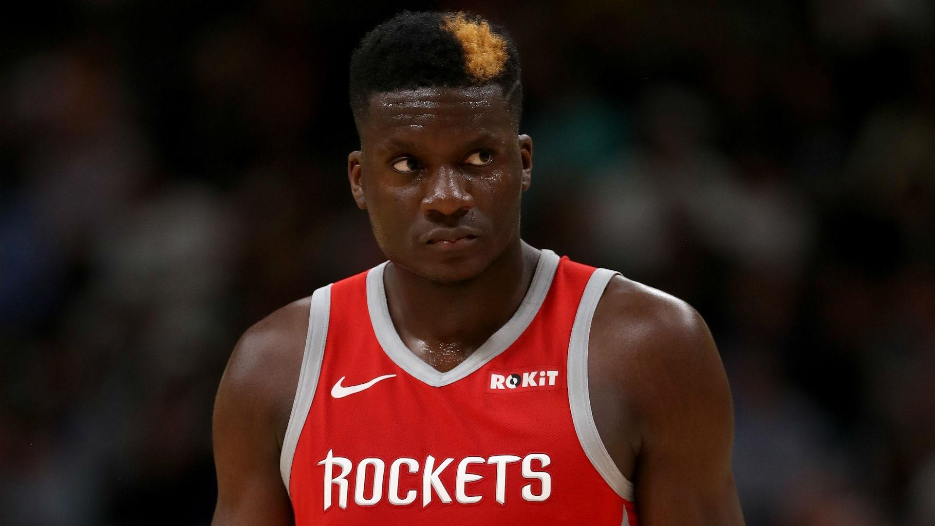 Clint Capela injury update: Rockets big man (thumb) out 4-6 weeks