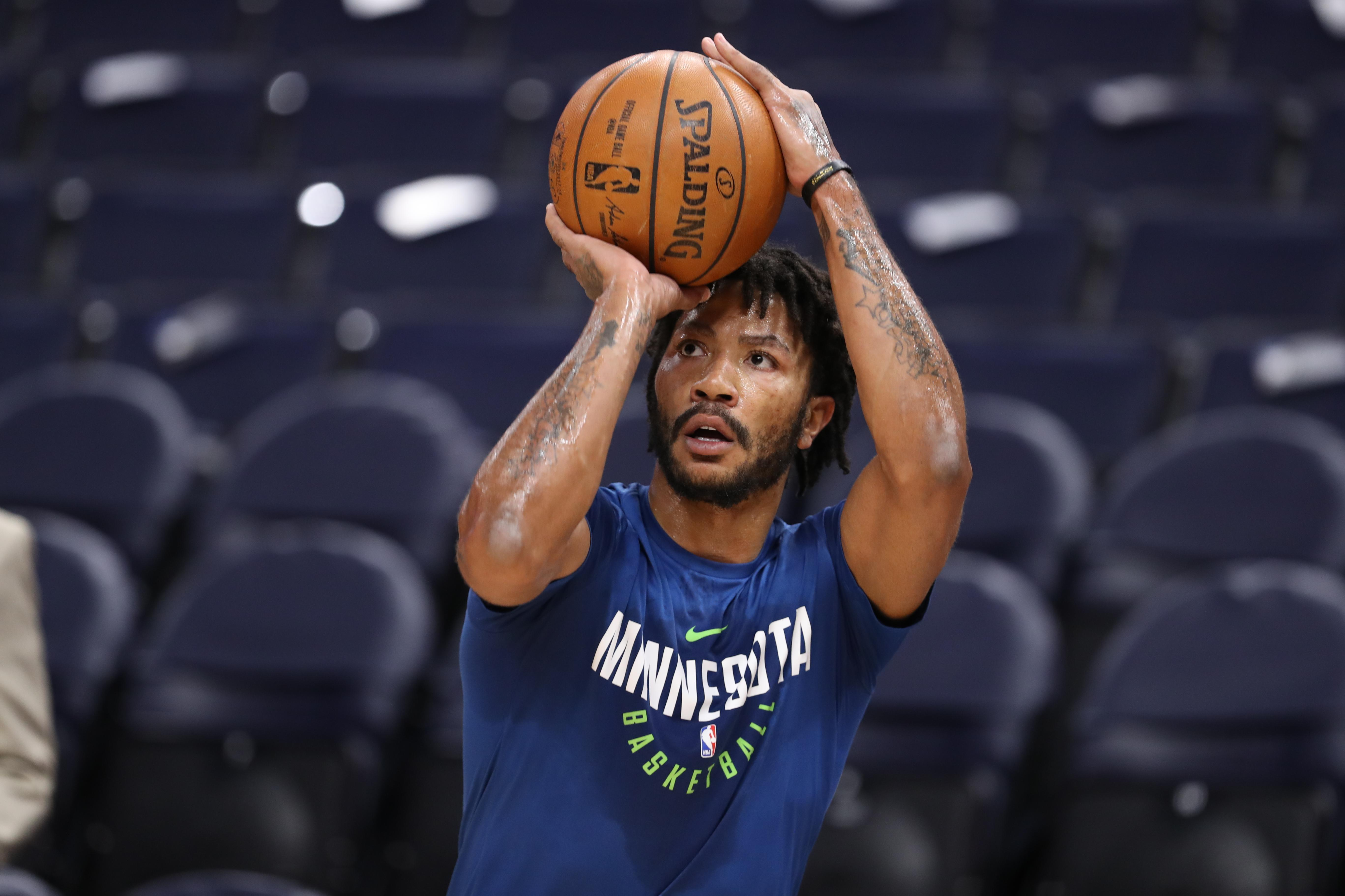 Derrick Rose blocks out doubters as he starts new journey in