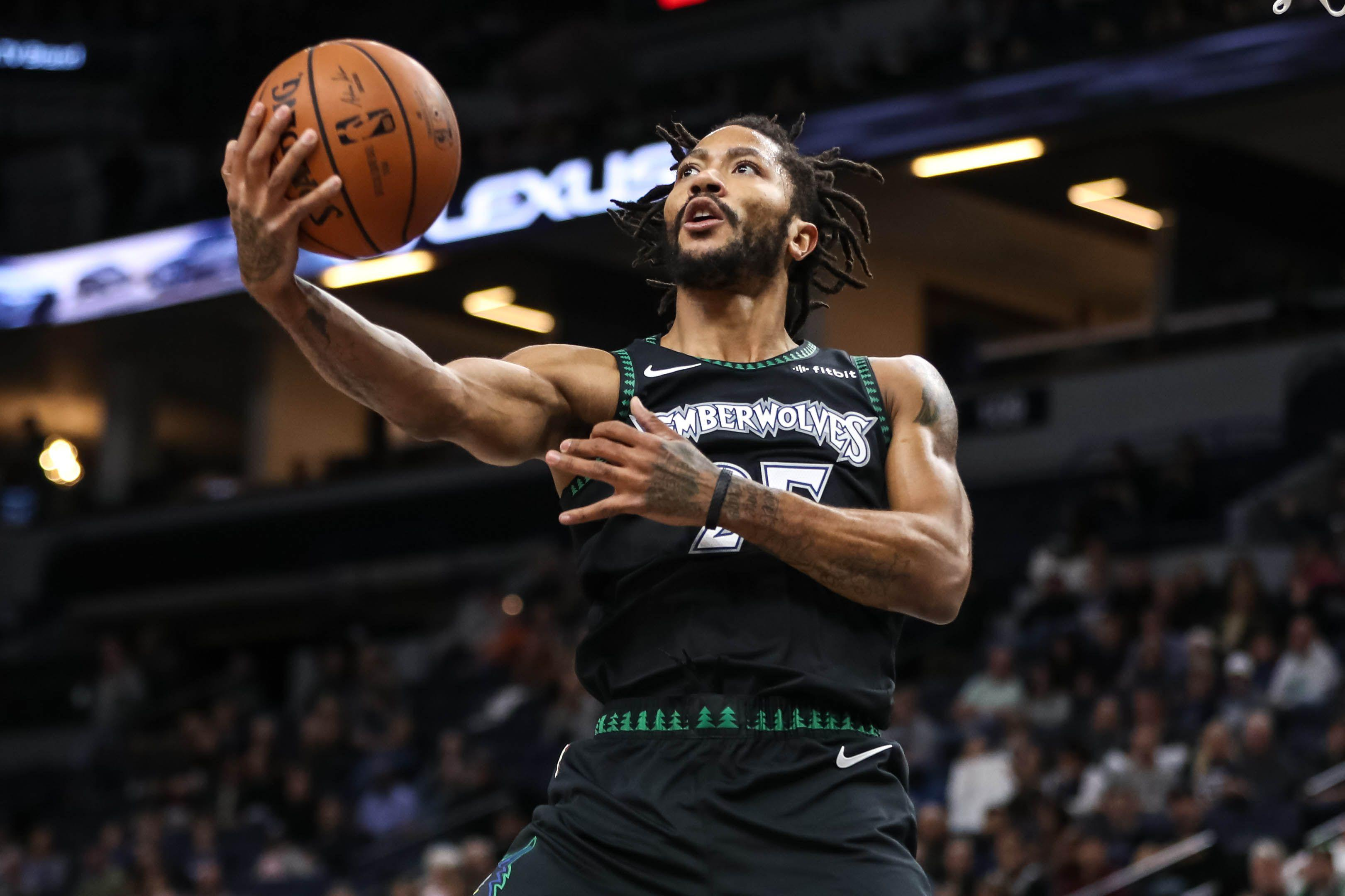 Derrick Rose delights NBA with career
