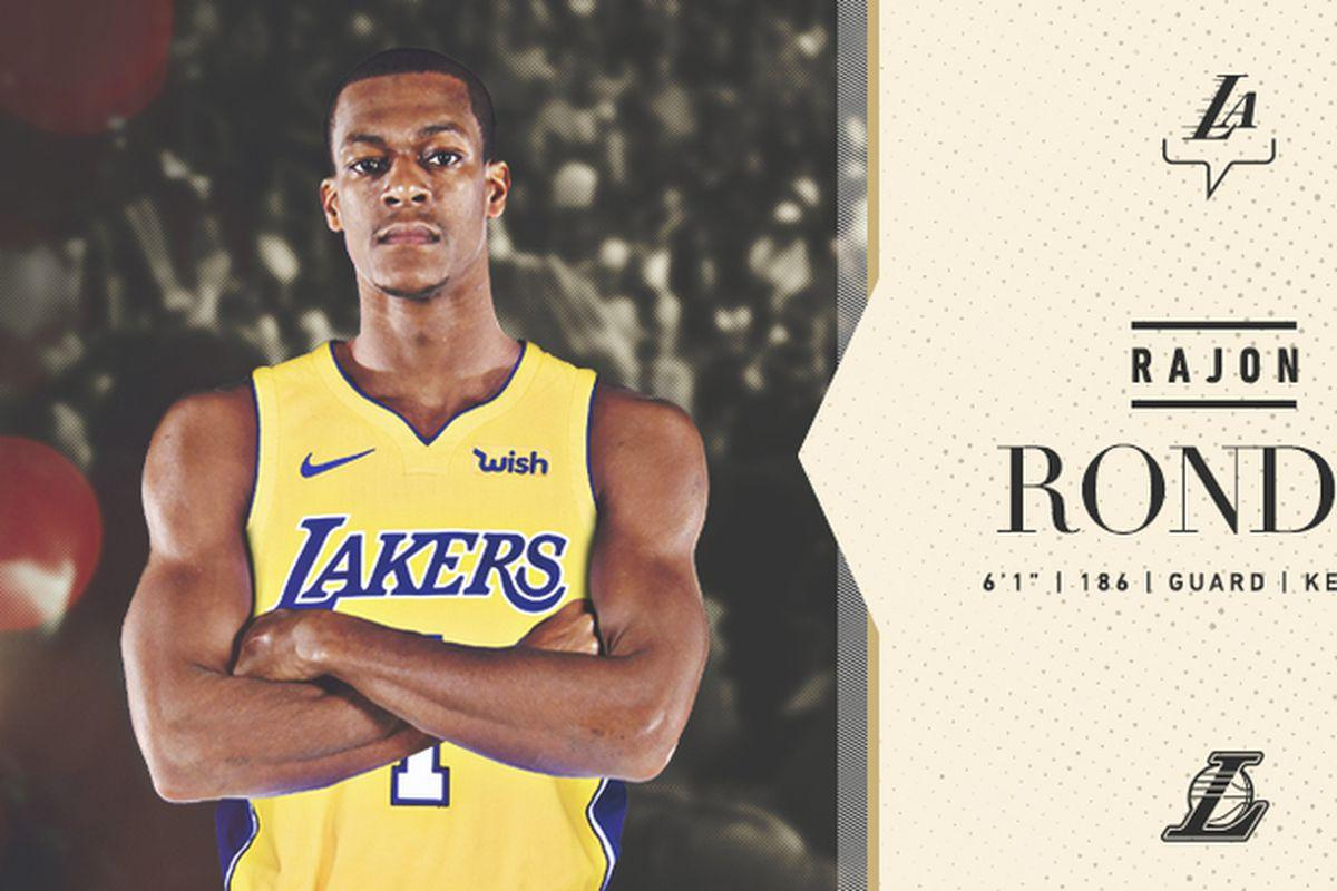 "Lakers News: Rajon Rondo: ""I'm just caught up in winning the ..."